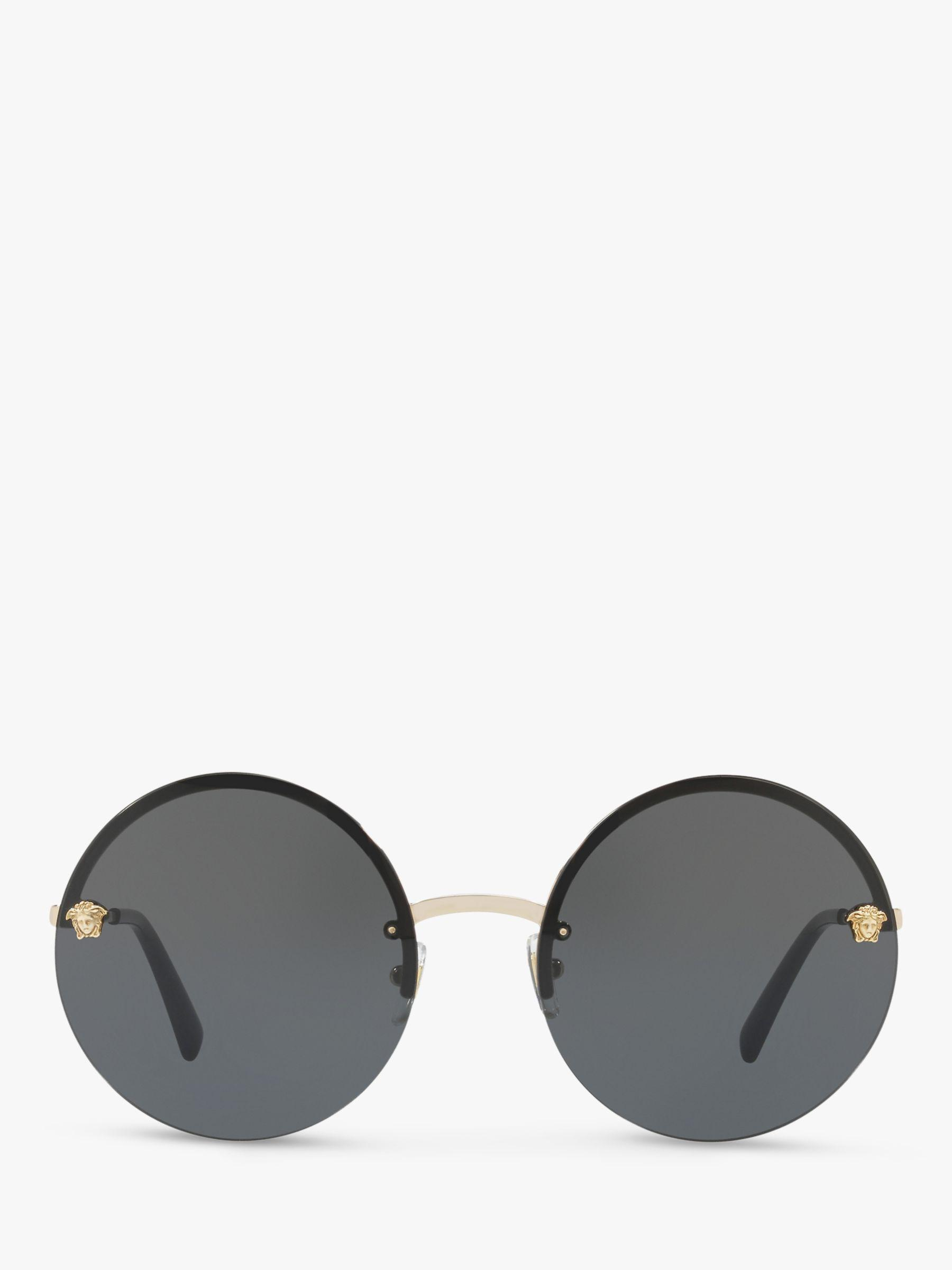ca4515f549 Versace - Yellow Pale Gold Ve2176 Round Sunglasses - Lyst. View fullscreen