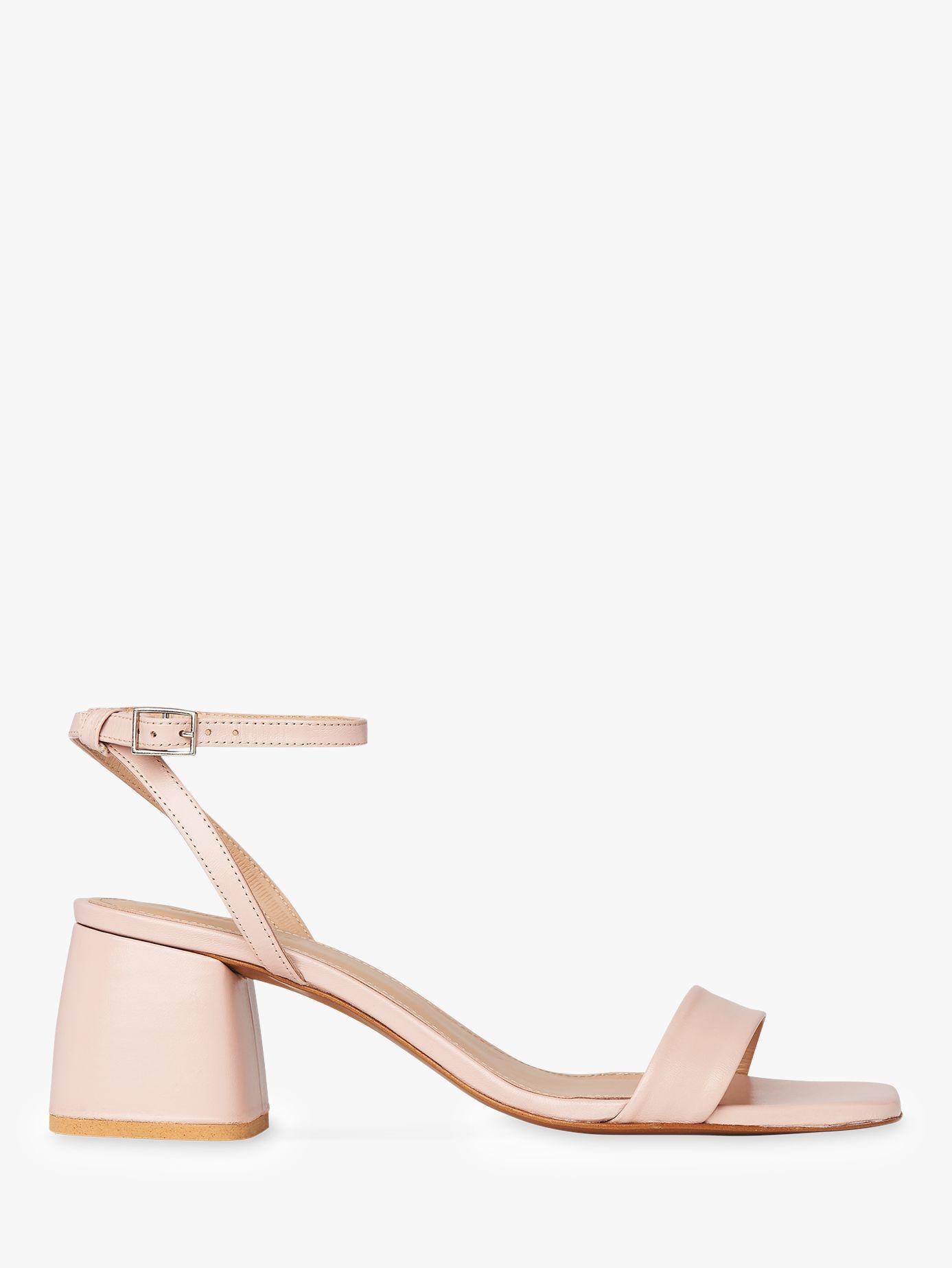 b047304dec86 Whistles. Women s Pink Hale Block Heel Sandals. £139 From John Lewis and  Partners