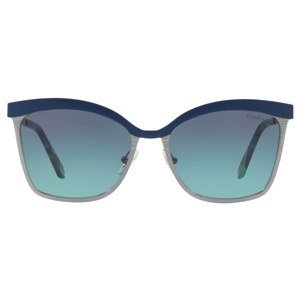 062ff7413ced Tiffany & Co. Tf3060 Square Sunglasses in Blue - Lyst