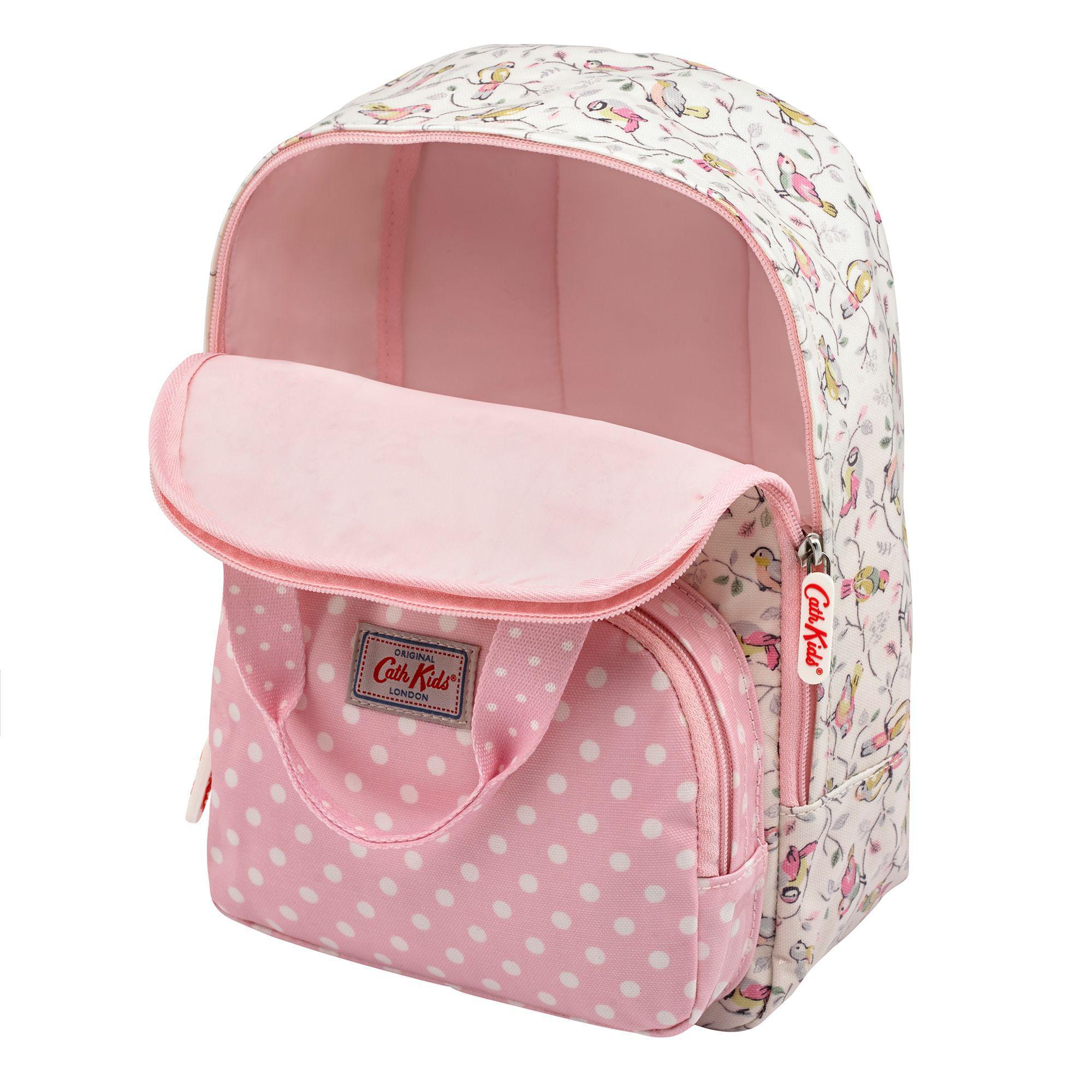 17fc64288b2c Cath Kidston Cath Kids Children s Little Birds Medium Backpack in ...