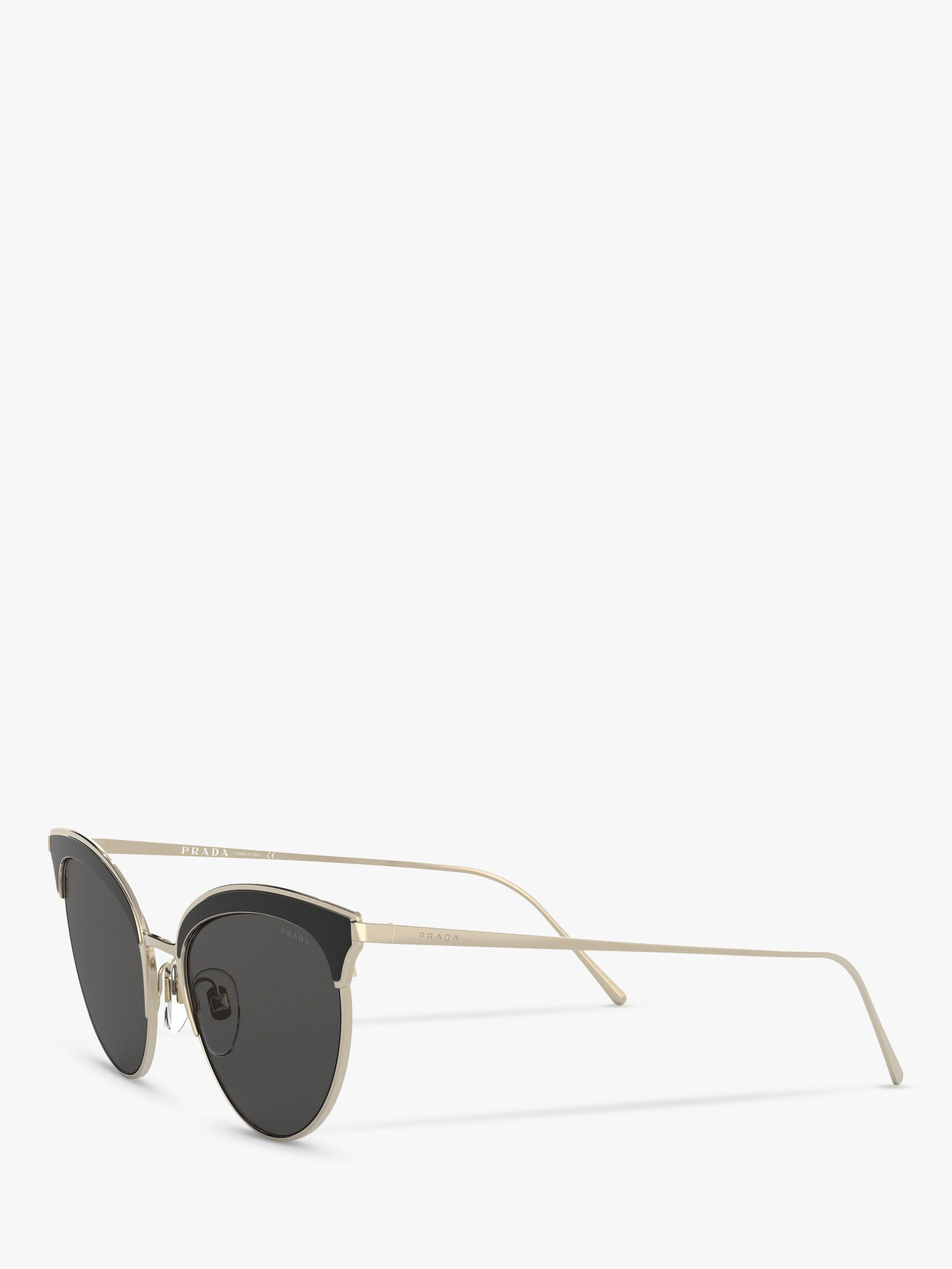 ee75cdabcd Prada - Black Pr 60vs Women s Cat s Eye Sunglasses - Lyst. View fullscreen