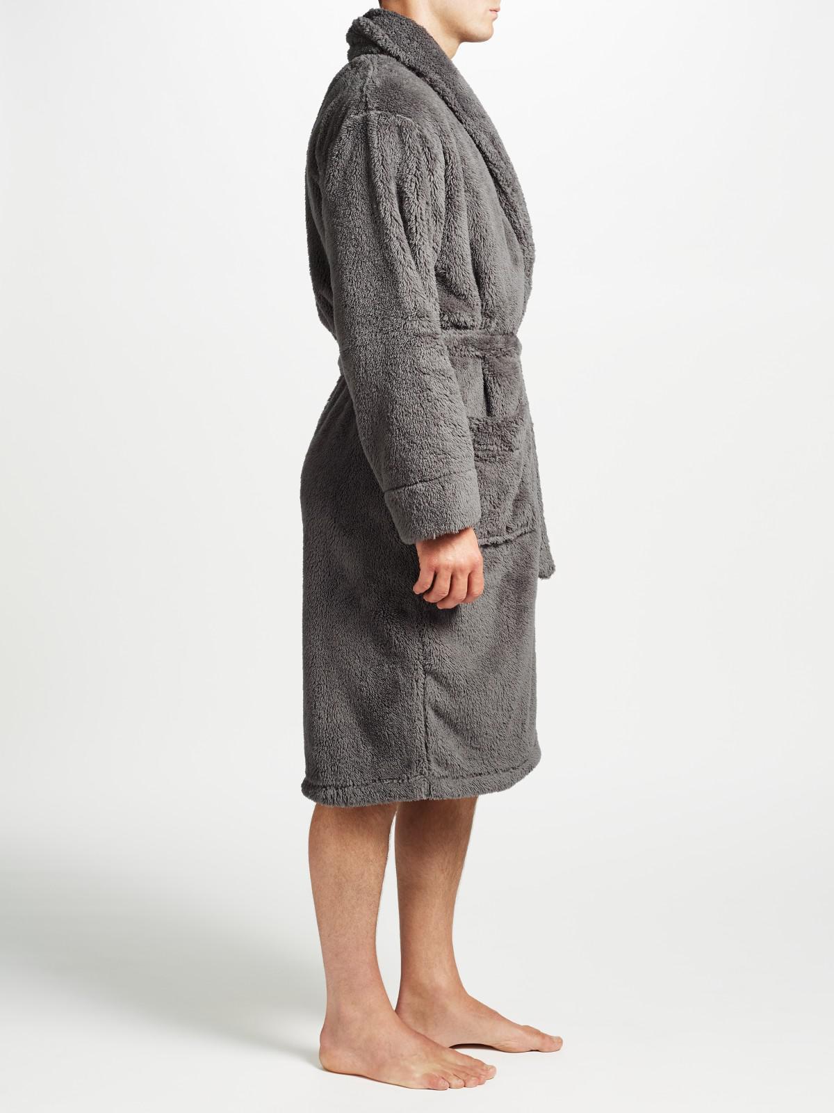 8baa6a6875 John lewis hooded high pile robe in gray for men lyst jpg 1200x1600 Vintage  pile robe