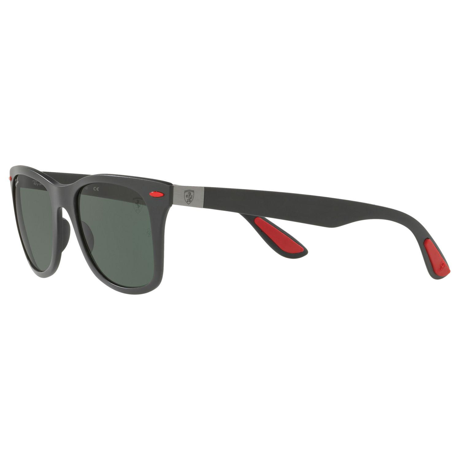 d620d043d7 ... get ray ban green rb4195m scuderia ferrari wayfarer sunglasses for men  lyst. view fullscreen e1e5c