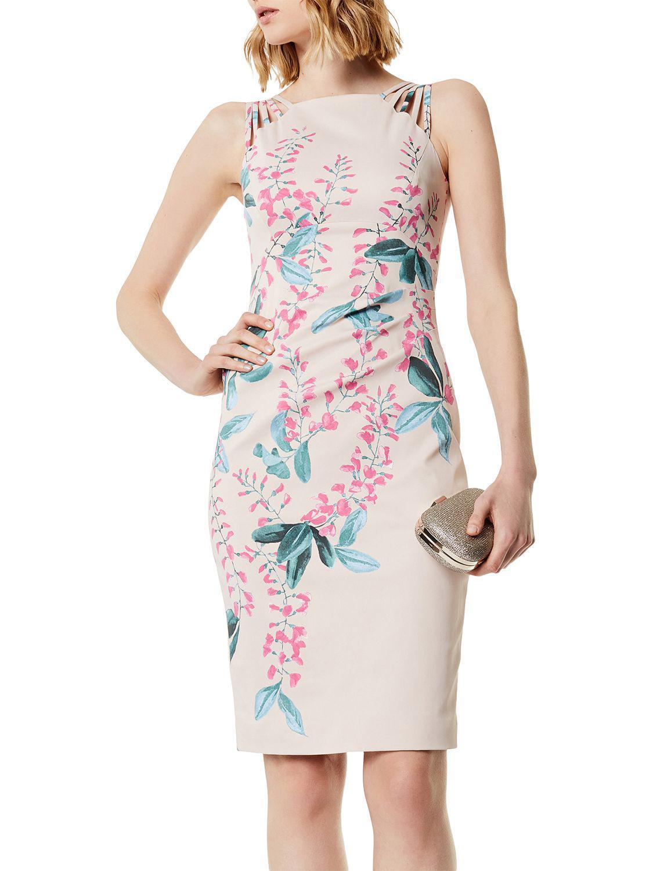 df487721ba Karen Millen Wisteria Floral Print Signature Dress - Save 25% - Lyst