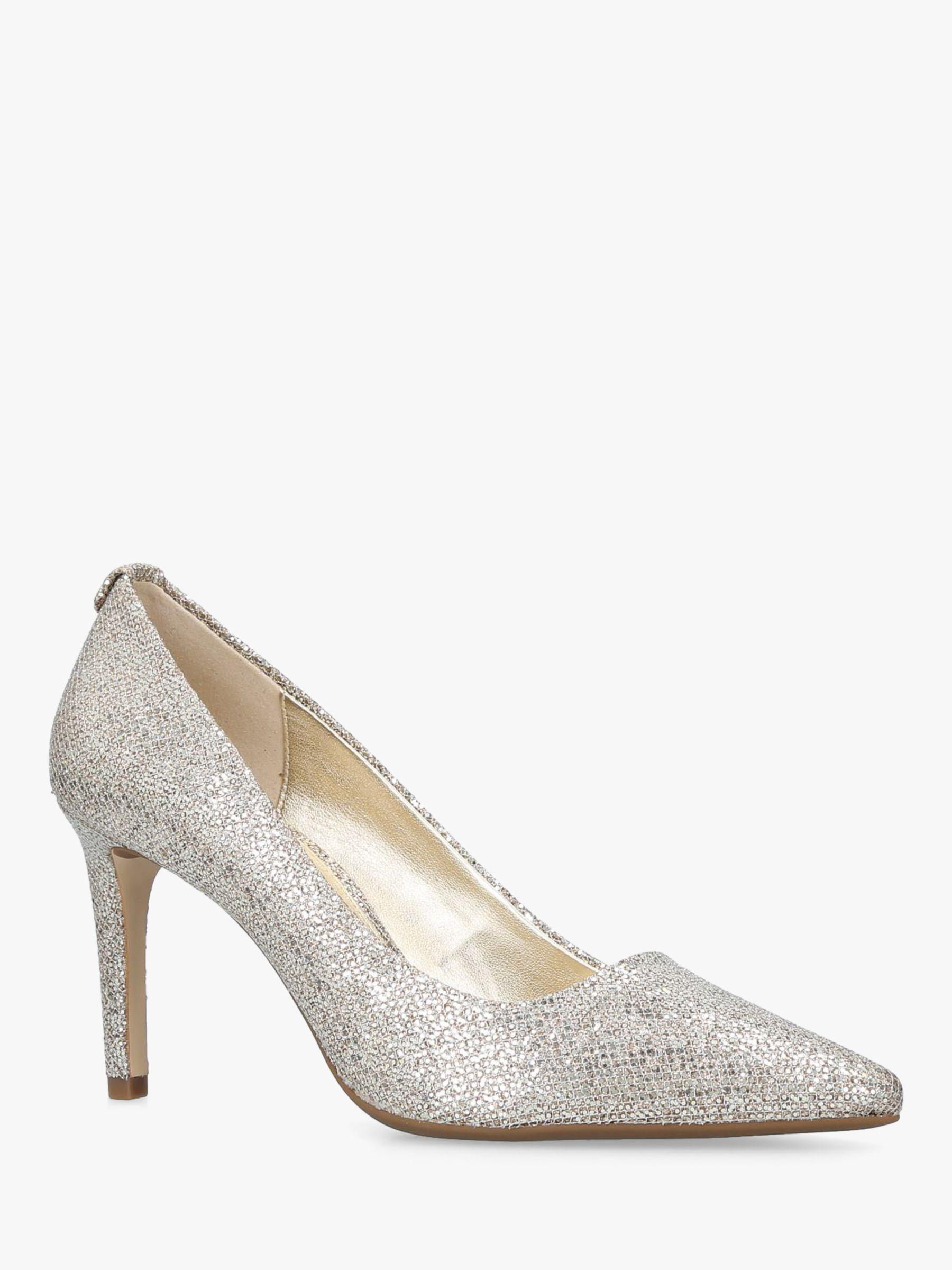 fd9f4a8c80 Michael Kors Michael Dorothy Flex Pointed Court Shoes in Metallic - Lyst