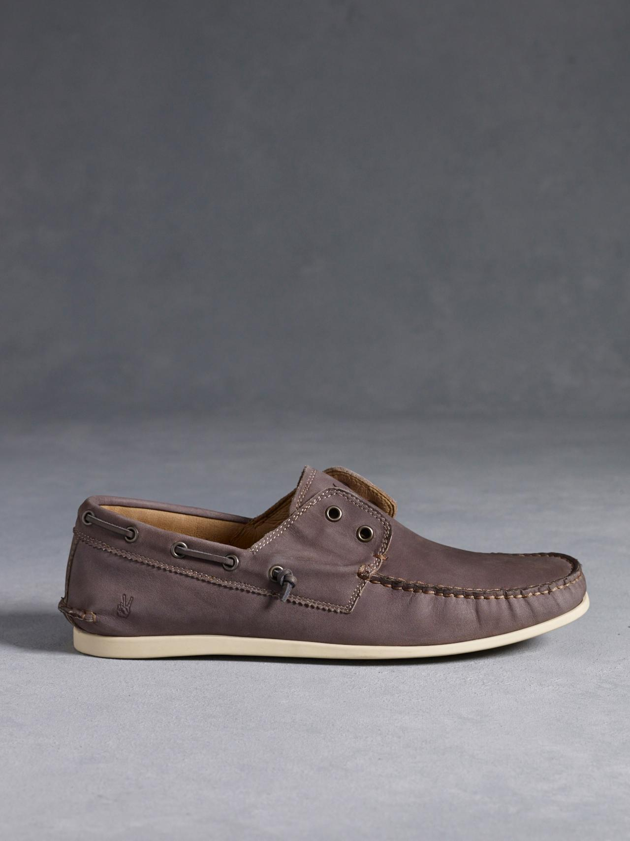John Varvatos Schooner Boat Shoe Leather