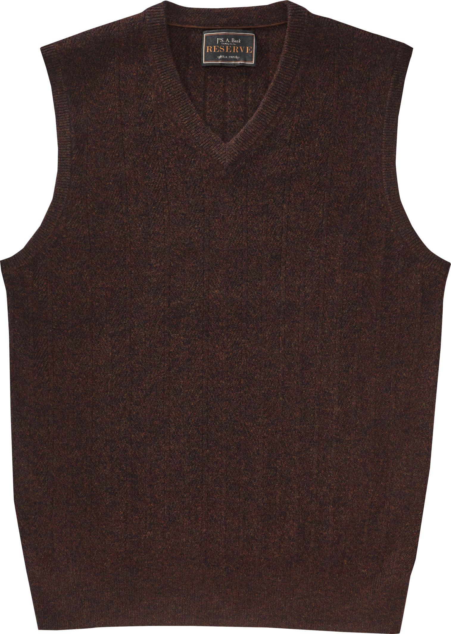 Jos. a. bank Reserve Collection Cashmere V-neck Sweater Vest in ...