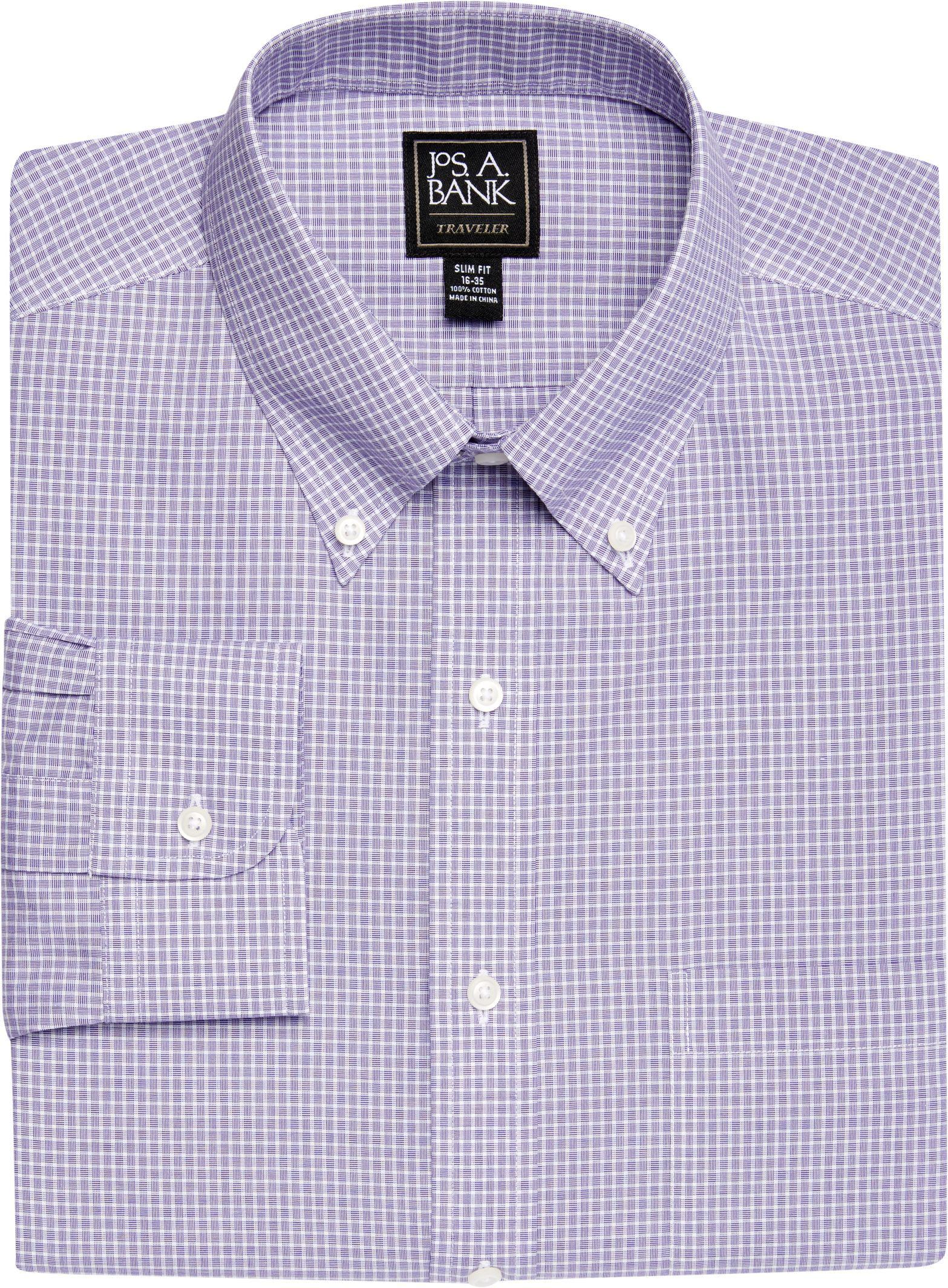 Lyst Jos A Bank Traveller Collection Slim Fit Button