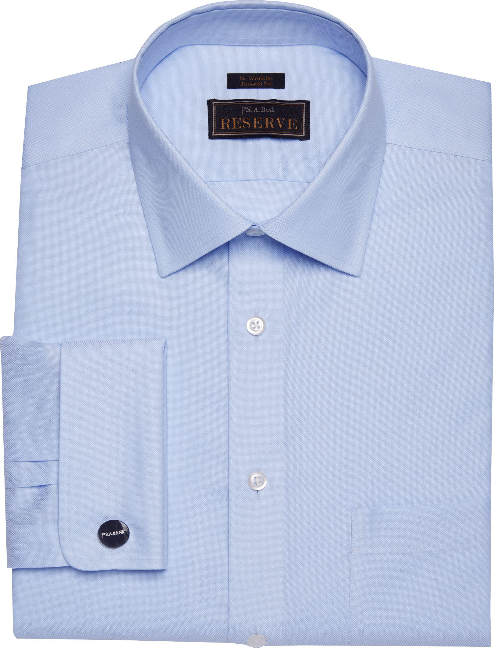 Lyst jos a bank reserve collection tailored fit spread for Tailored fit dress shirts
