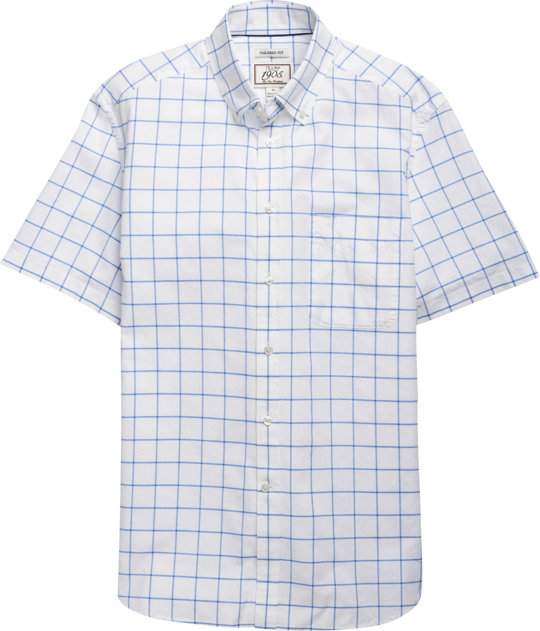 0be0156d6313 Lyst - Jos. A. Bank 1905 Collection Tailored Fit Button-down Collar ...