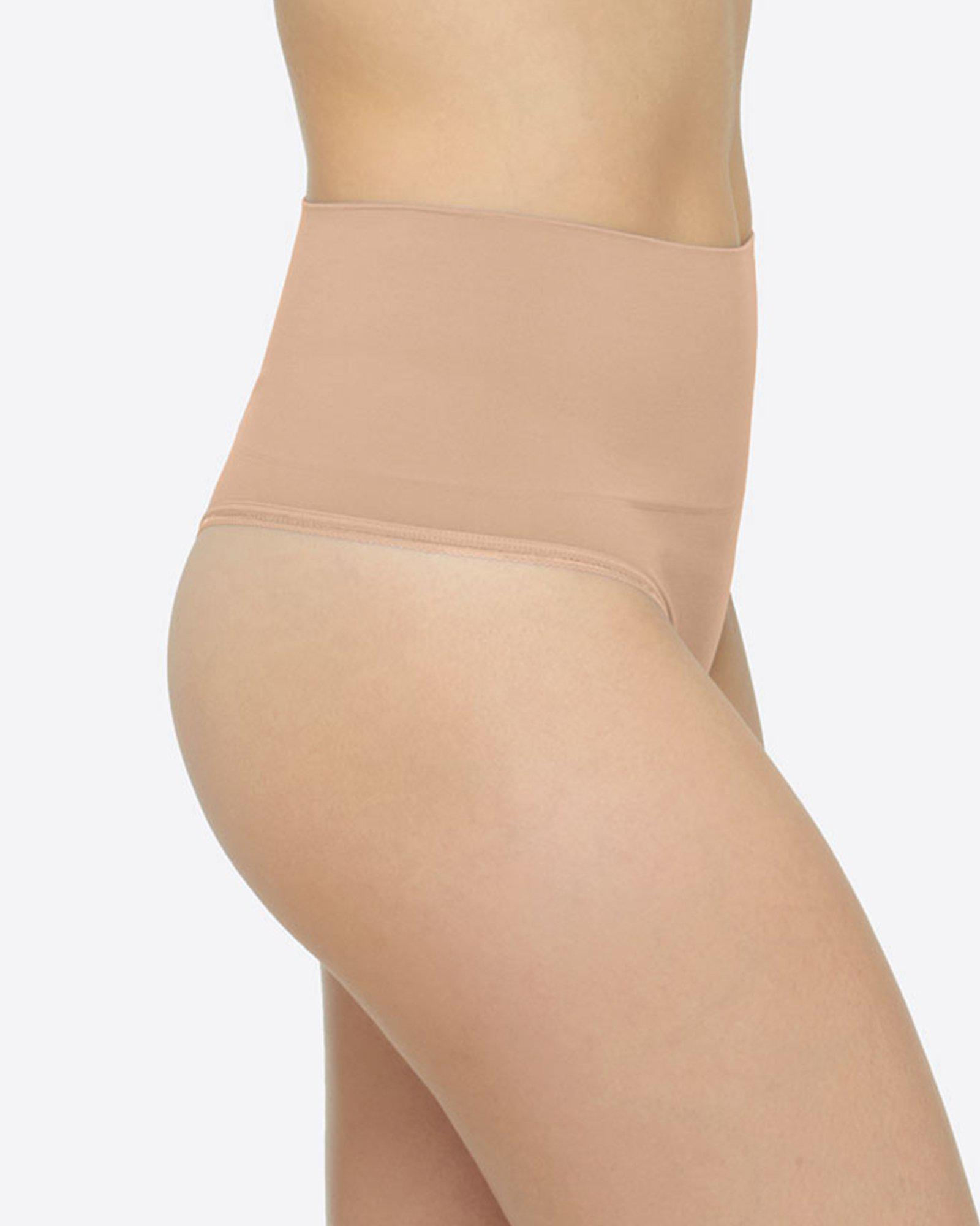 de57534d754b Lyst - Yummie By Heather Thomson Ultra Light Seamless Thong in Natural