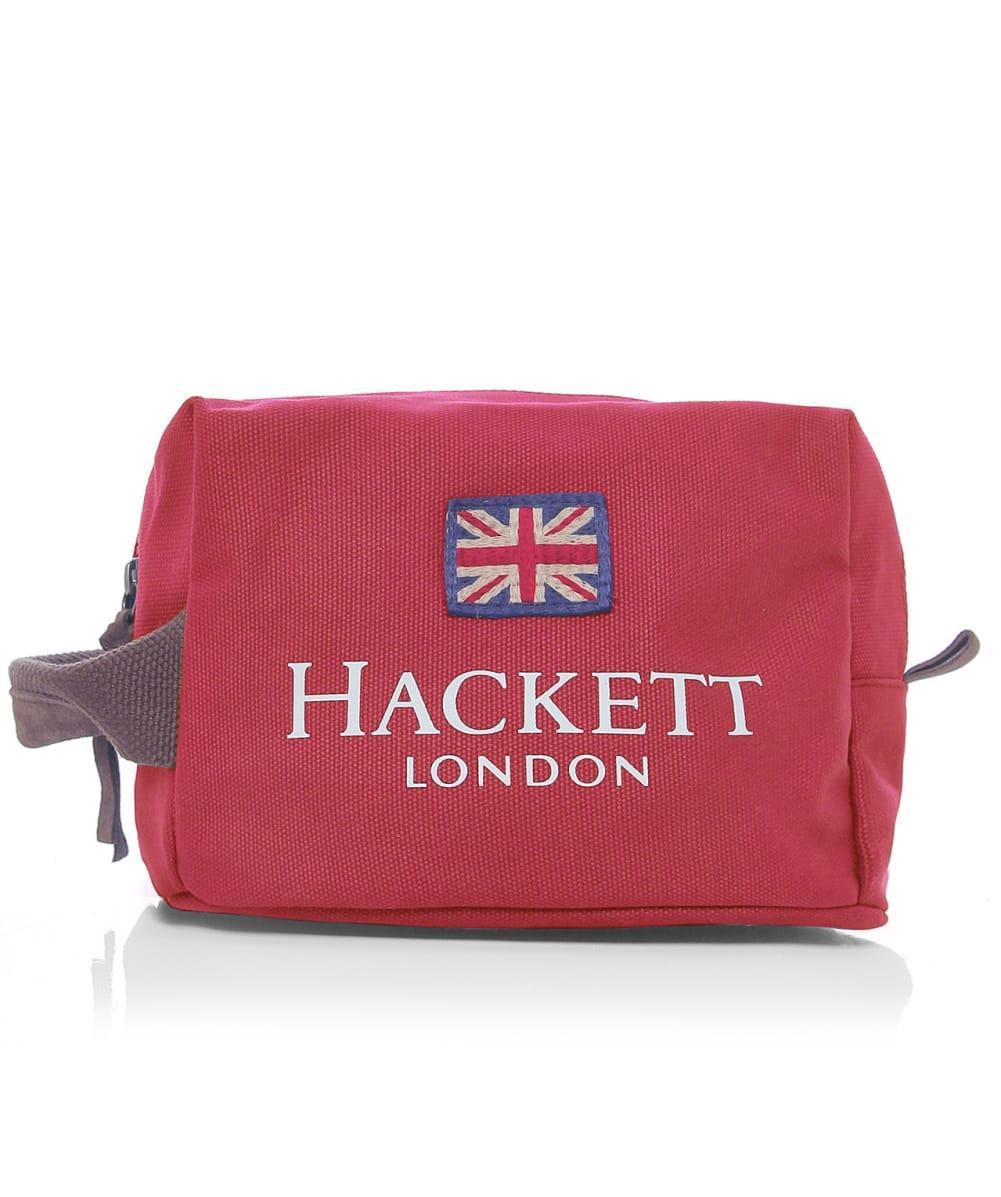 0dd7095c93 Hackett Cotton Wash Bag in Red for Men - Lyst