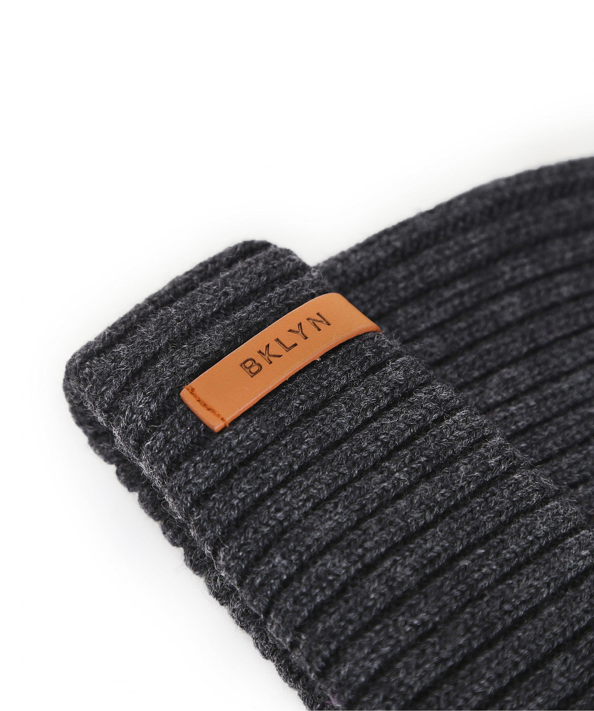 Lyst - Bklyn Merino Wool Beanie Hat in Gray 6bc3585bae72