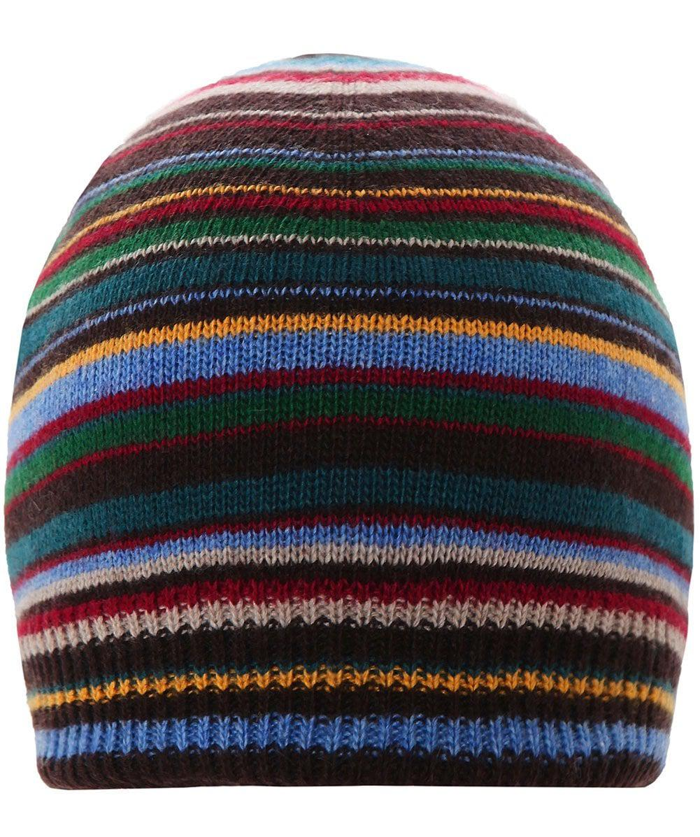 3020c8a431e Paul Smith Cashmere Blend Striped Beanie in Blue for Men - Lyst