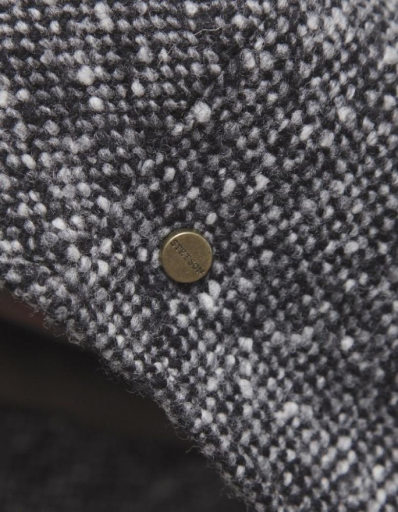 d2f4b2ccfd2 Stetson Herringbone Bandera Flat Cap in Gray for Men - Lyst