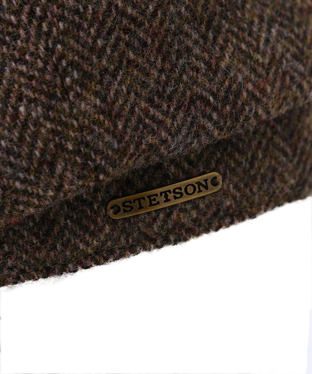 Lyst - Stetson Hatteras Woolrich Herringbone Cap in Brown for Men bf7708d04c3