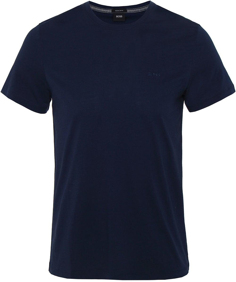 4be2e419f BOSS Jersey Tiburt 33 T-shirt in Blue for Men - Lyst