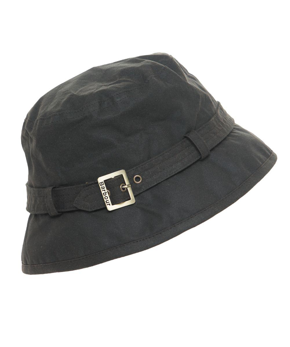 Barbour Kelso Belted Bucket Hat in Green - Lyst 563857d894e0