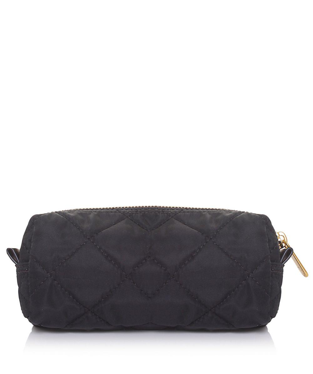 c0a142a3319c Marc Jacobs Crosby Quilted Narrow Cosmetic Bag in Black - Lyst
