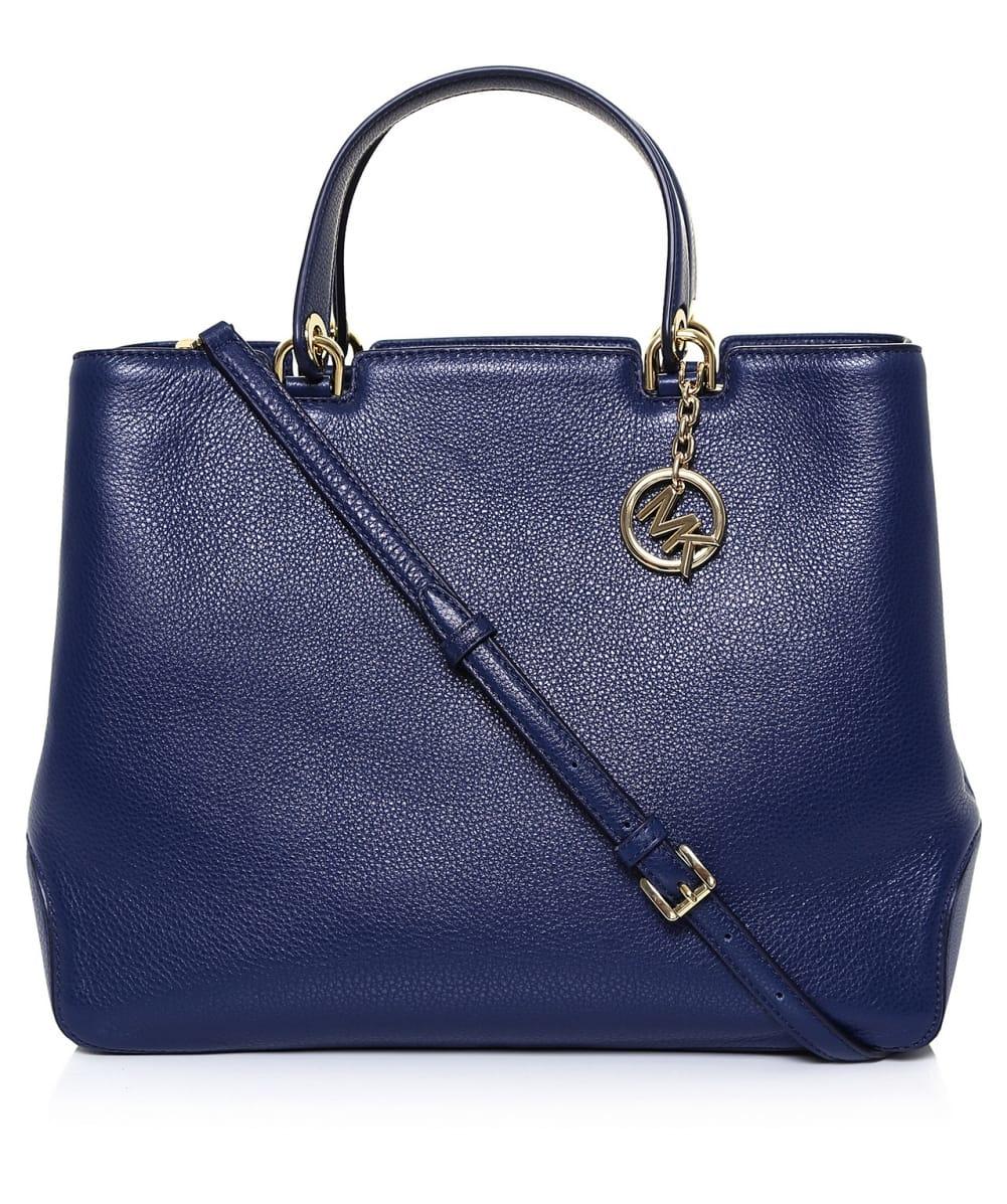 dea783dca15e24 MICHAEL Michael Kors Annabelle Xl Tote Bag in Blue - Lyst