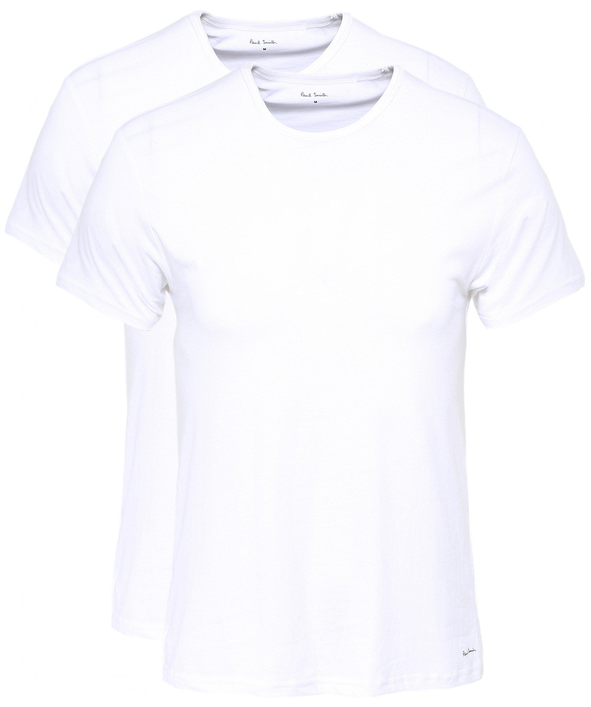 80edb6dd ... White Two Pack Of T-shirts for Men - Lyst. View fullscreen