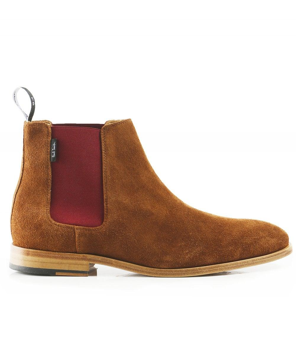 f73e83c13a7 Lyst - PS by Paul Smith Suede Gerald Chelsea Boots in Brown for Men