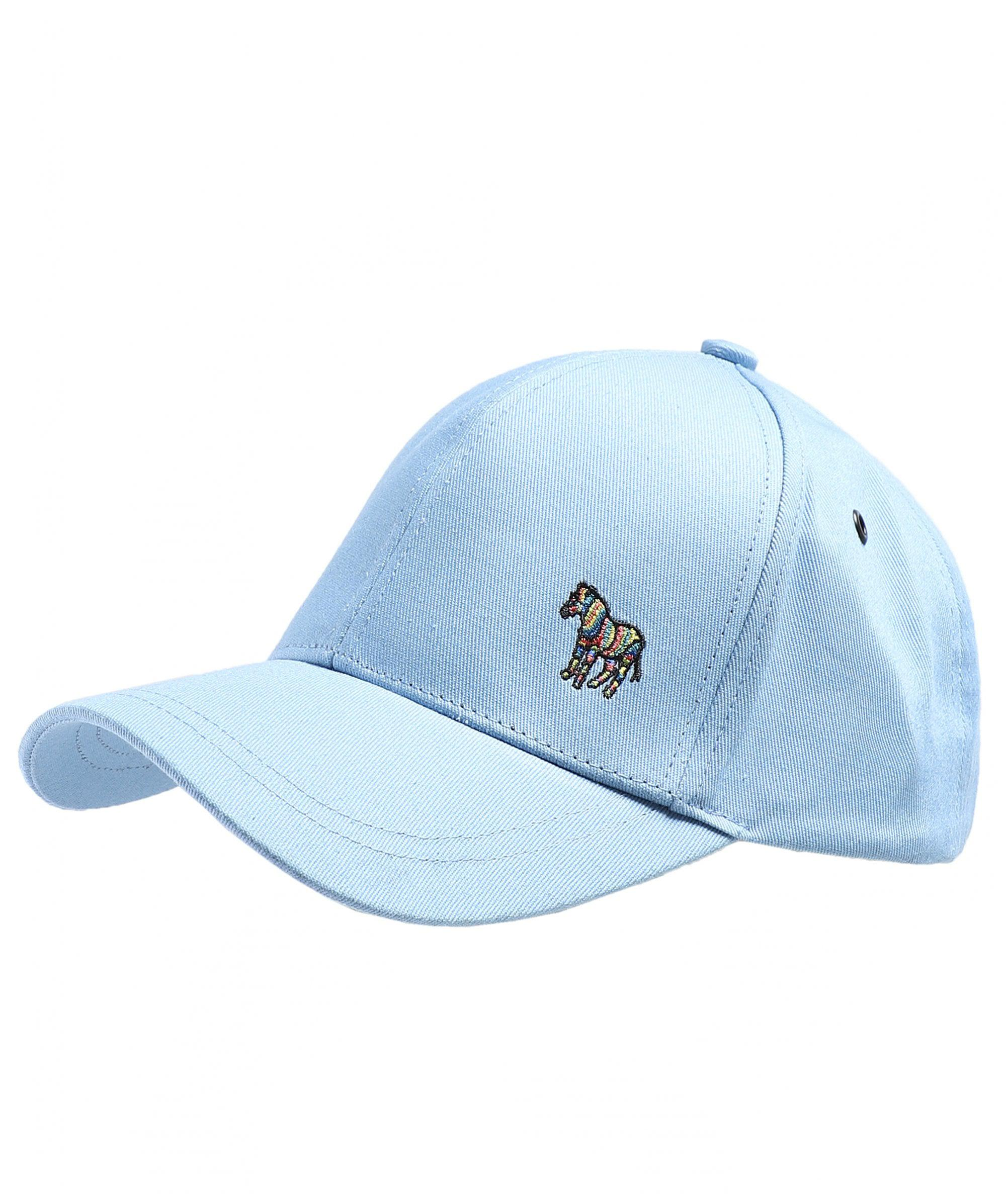 d7457774cef Ps By Paul Smith Cotton Zebra Logo Baseball Cap in Blue for Men - Lyst