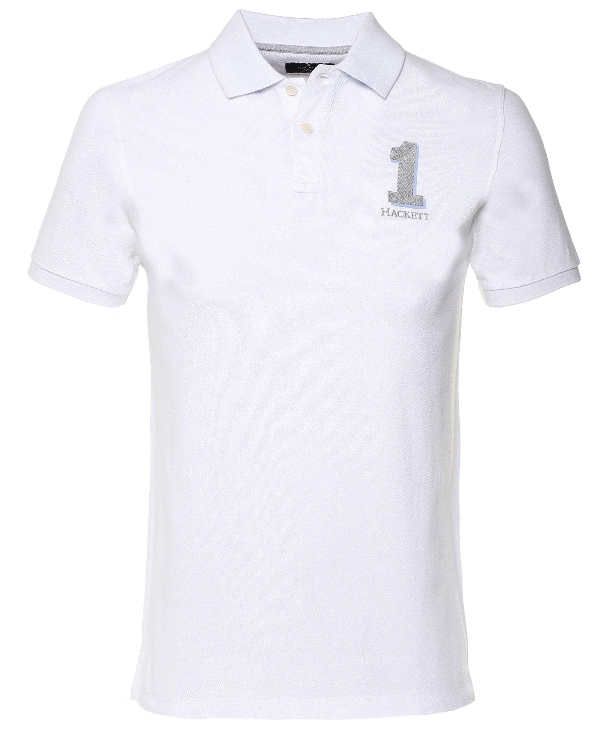 8697990a Hackett - White New Classic Polo Shirt for Men - Lyst. View fullscreen