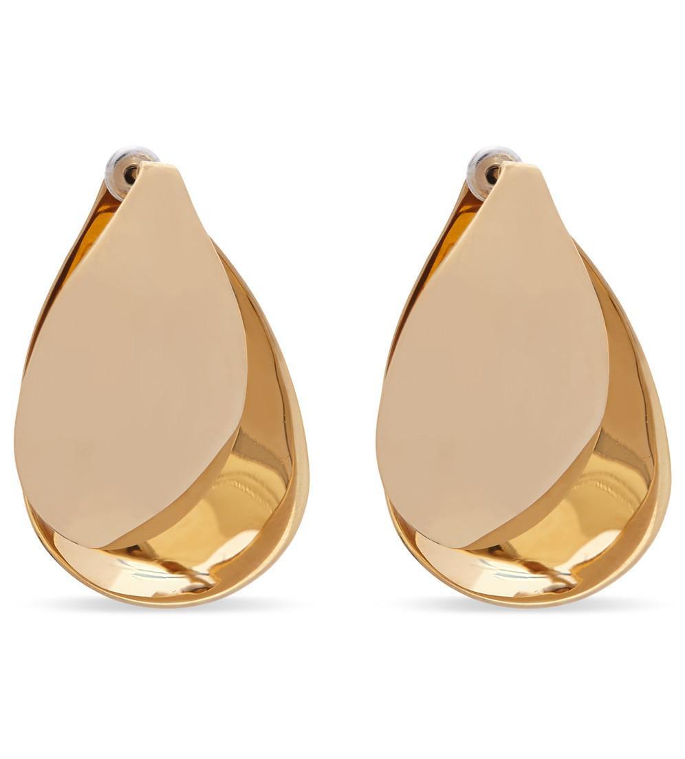 Charlotte Chesnais Petal earrings - Metallic ChryH