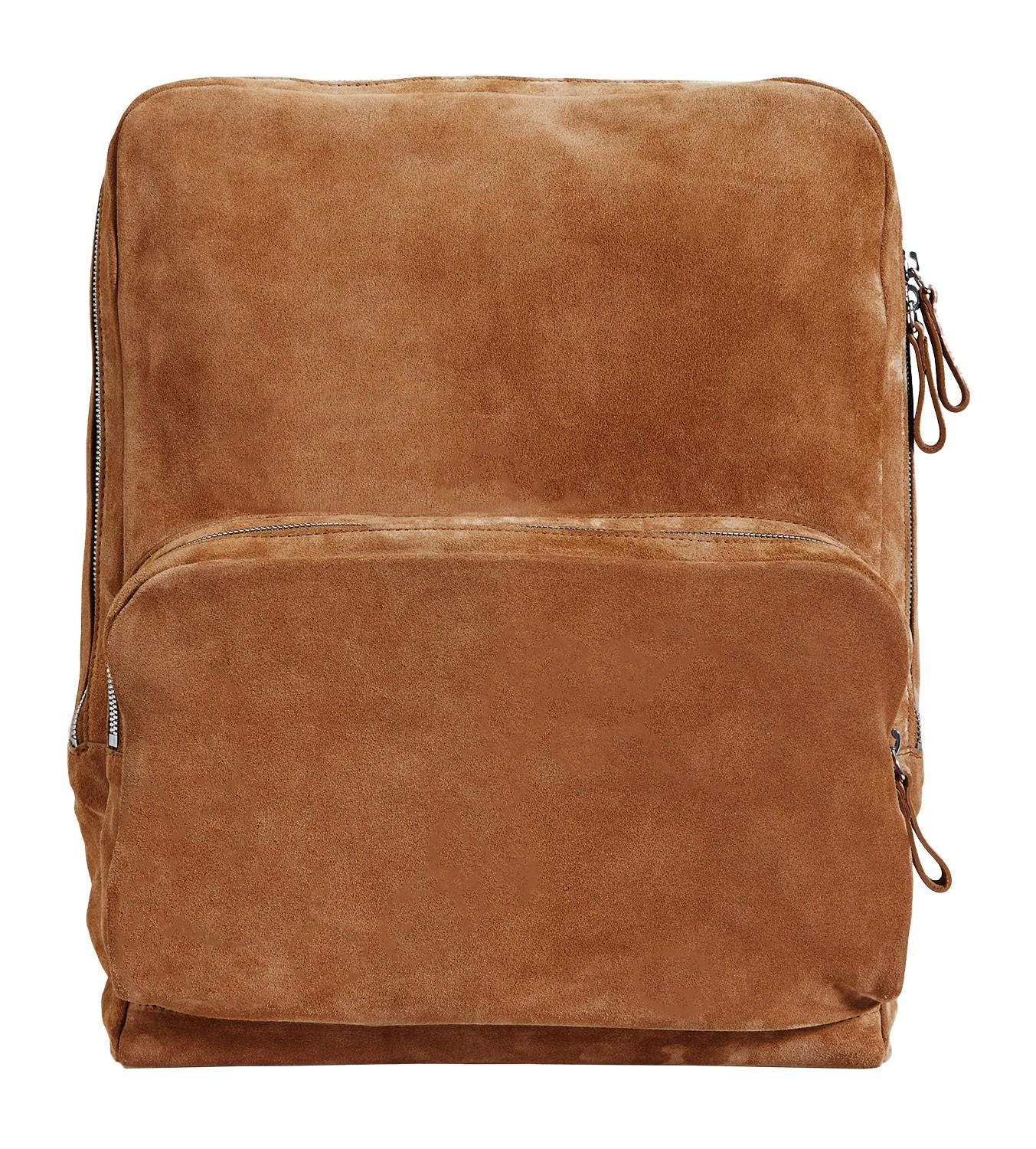 Pierre hardy Tan Suede Backpack For Men in Brown for Men | Lyst