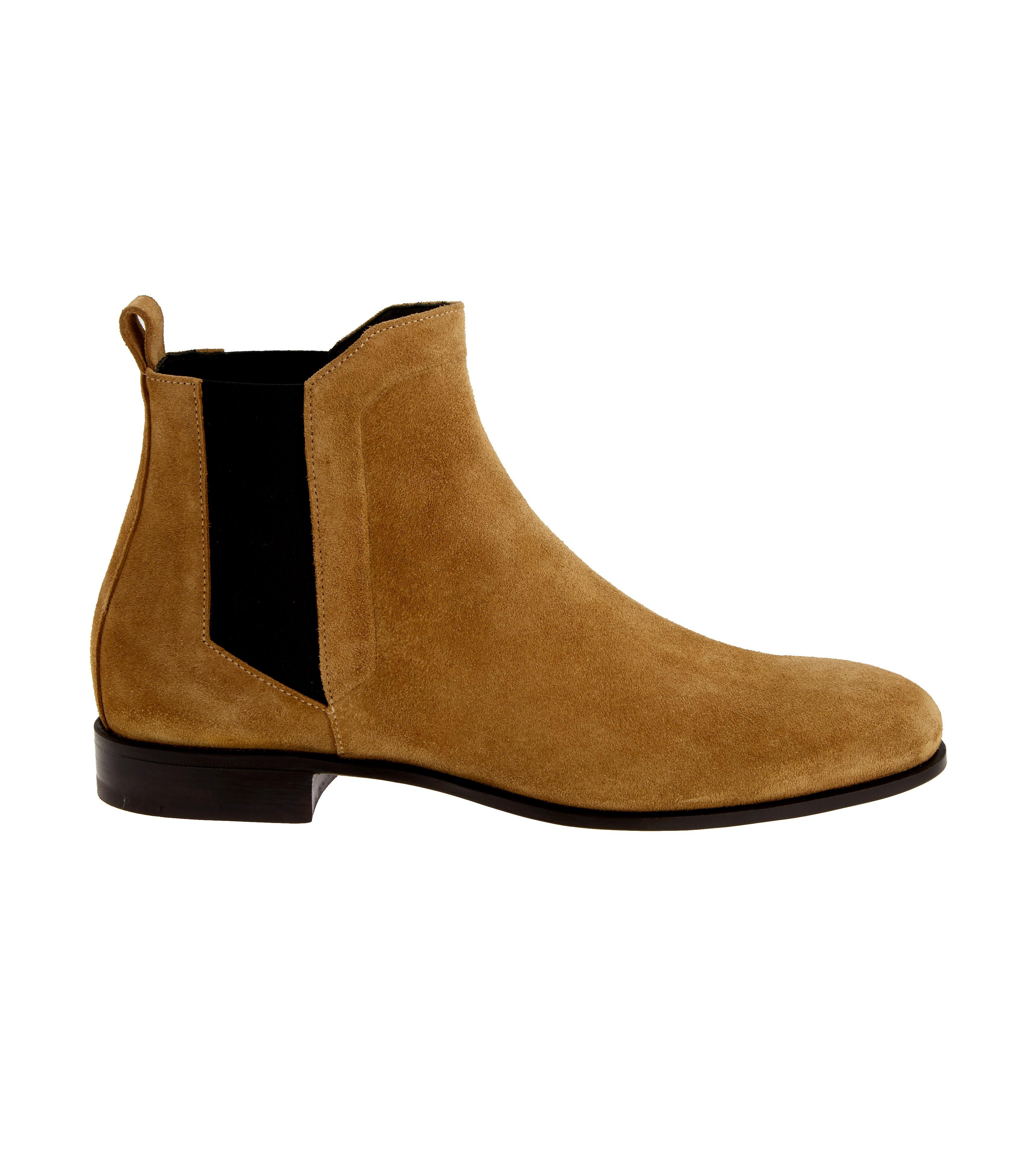 Gucci Grey Suede Drugstore Chelsea Boots viKcfE97A3