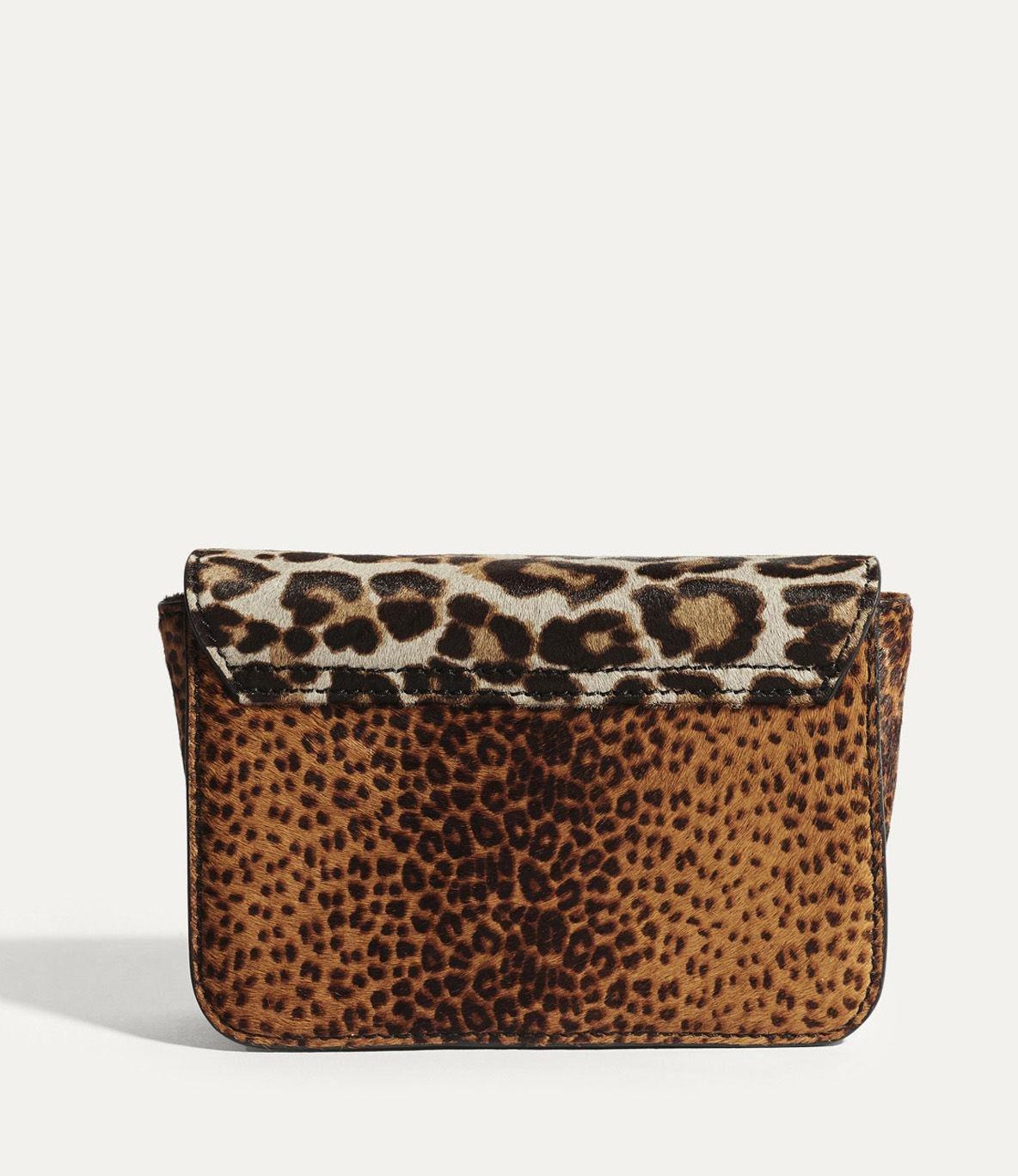 3a414fb72b4 Karen Millen Leopard Cross Body Bag - Leopard Print in Brown - Lyst