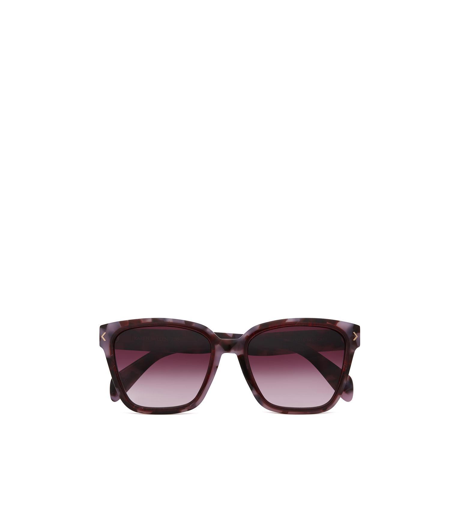 4aa6e270b0 Karen Millen - Pink Deep Square Sunglasses - Lyst. View fullscreen