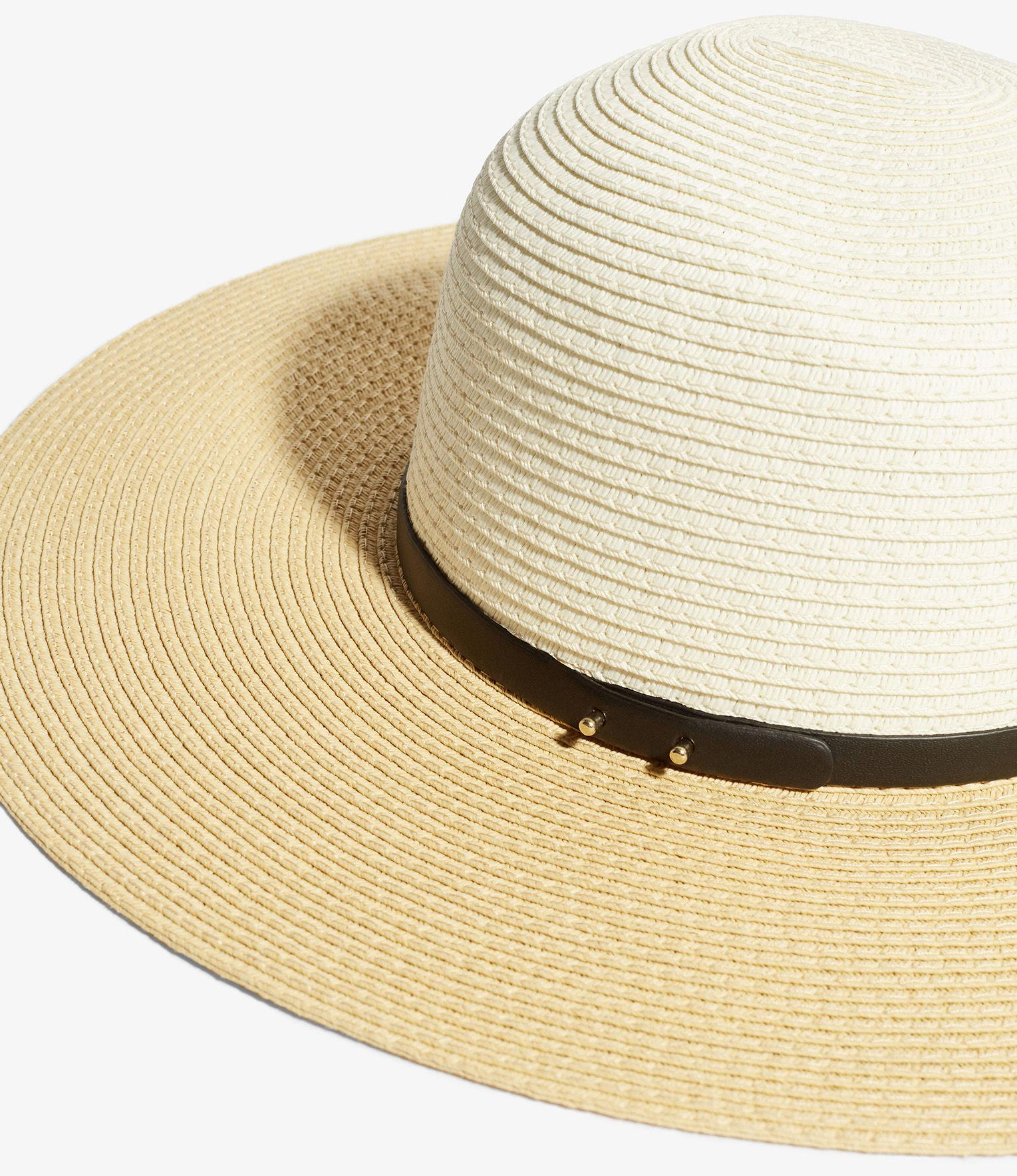... Natural Floppy Brimmed Hat - Lyst. View fullscreen f71d31b3ec03