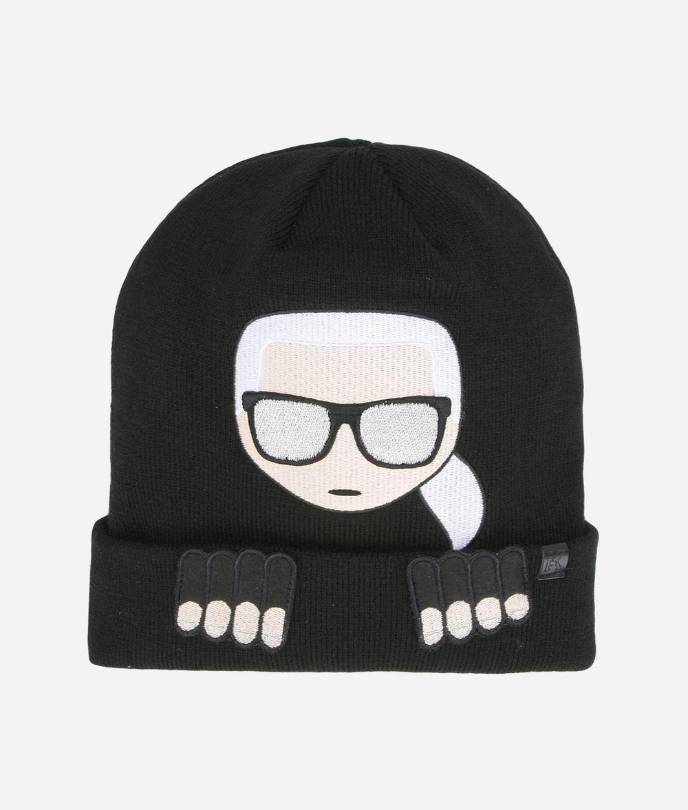 Karl Ikonik beanie - Black Karl Lagerfeld YChhvh