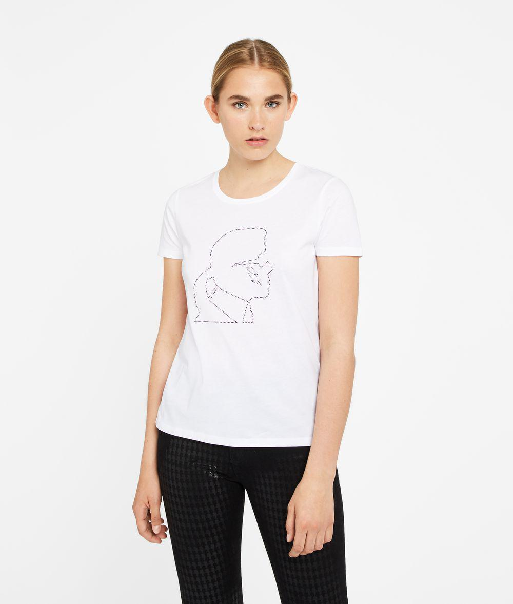 Karl Lagerfeld Women's Ikonik Karl Lightning Bolt T-Shirt Outlet Many Kinds Of Ebay Online Ypjmzq