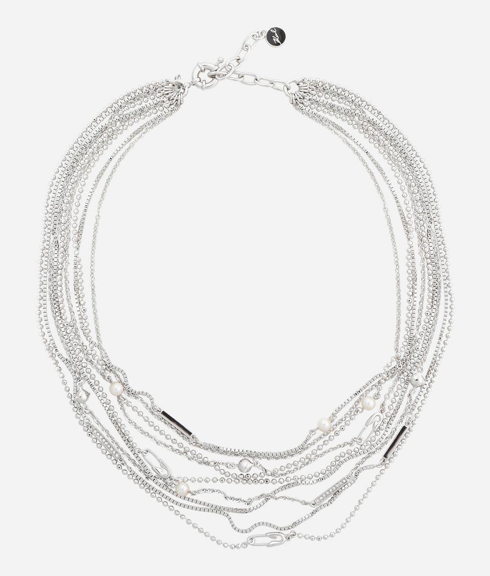 Karl Lagerfeld signature star necklace - Metallic OoXLJ6OzZo