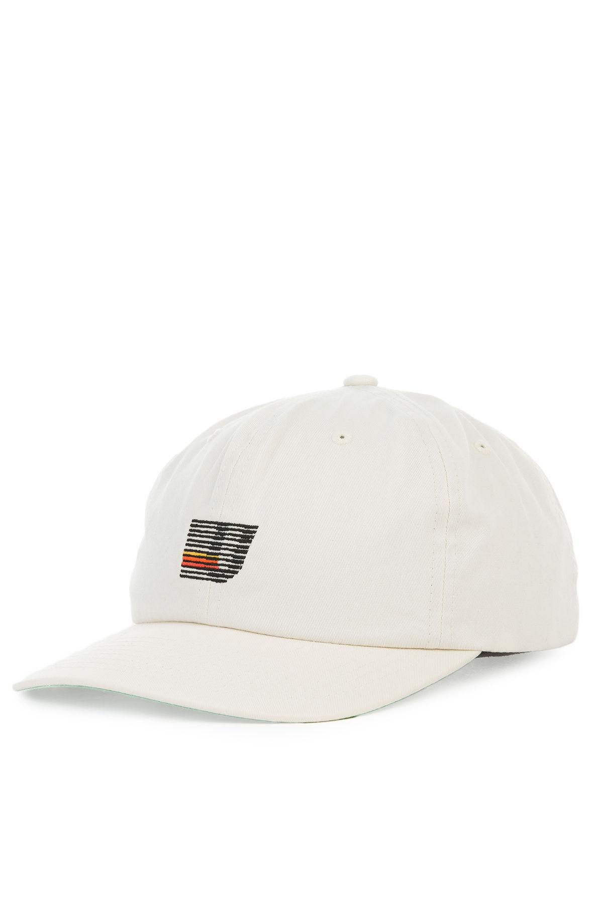80614cdfef8 Lyst - Undefeated The Speed Stripe Strapback Hat in Natural for Men