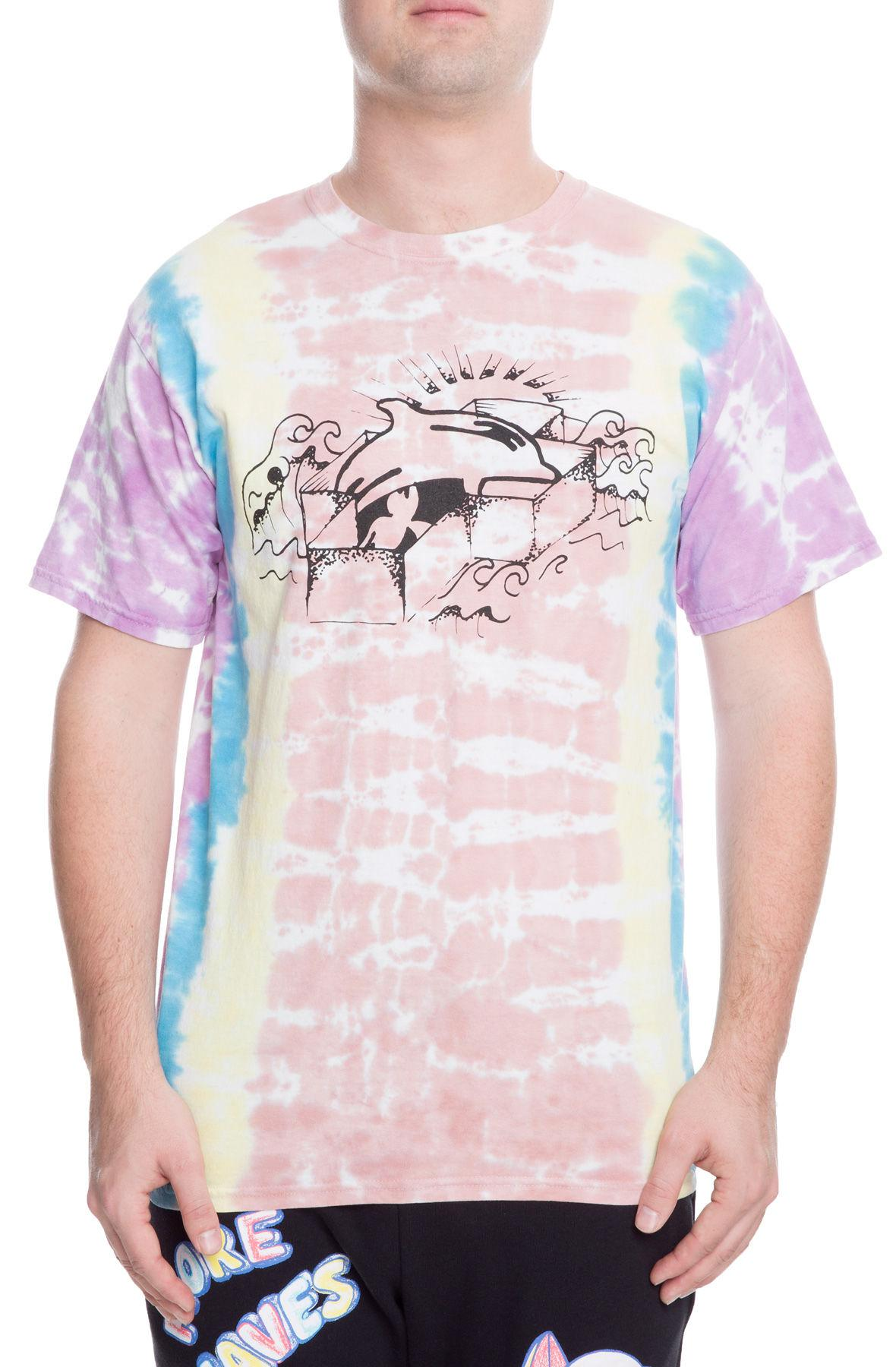 26e848c4 Lyst - Pink Dolphin The Hillcrest Tee in Yellow for Men