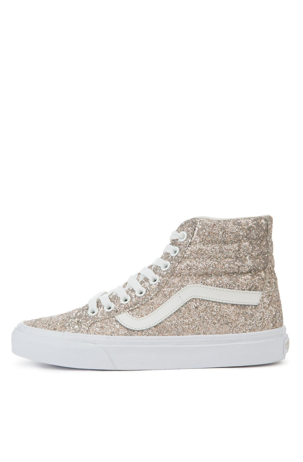 Lyst - Vans The Women s Sk8-hi Reissue Chunky Glitter In Multi And ... a42872654