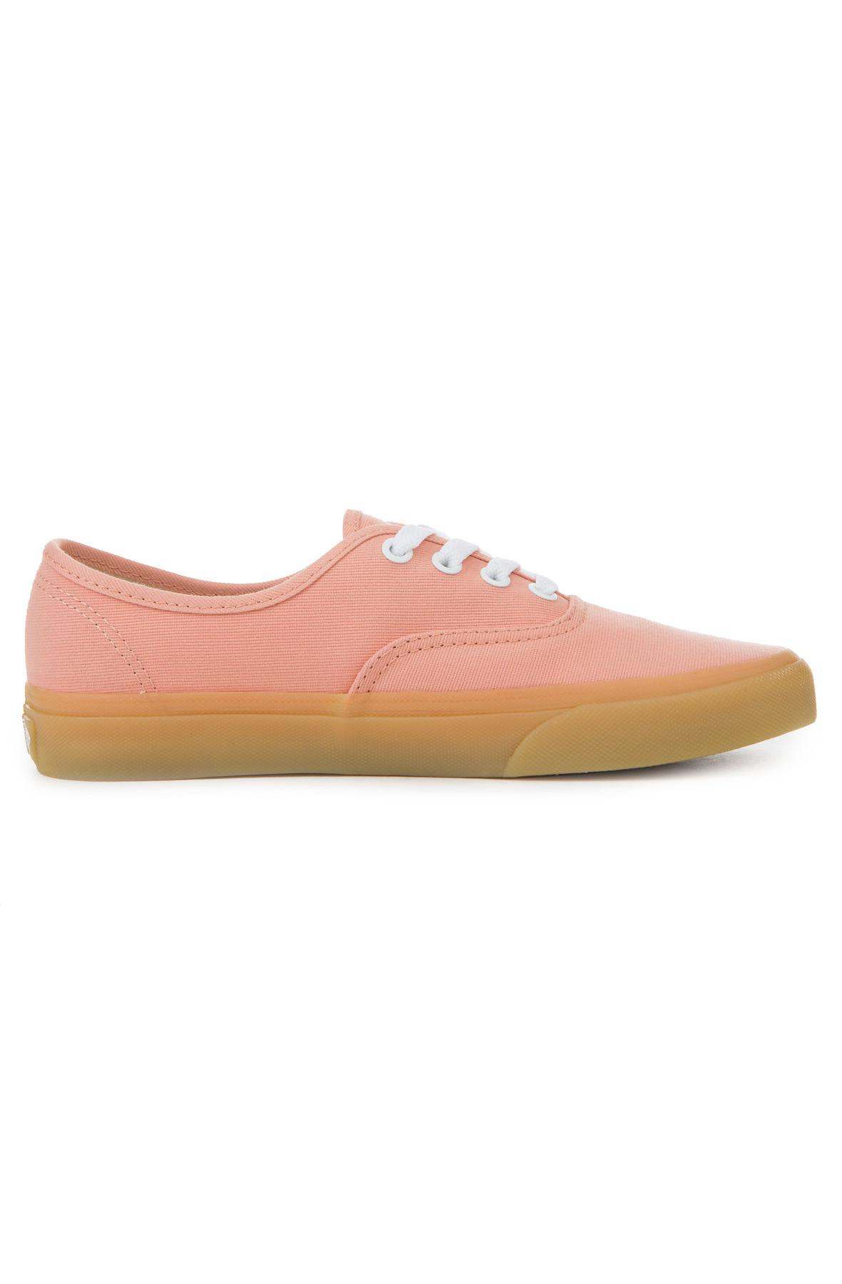 dd9067f3c3 Lyst - Vans The Women s Authentic In Muted Clay And Gum in Pink