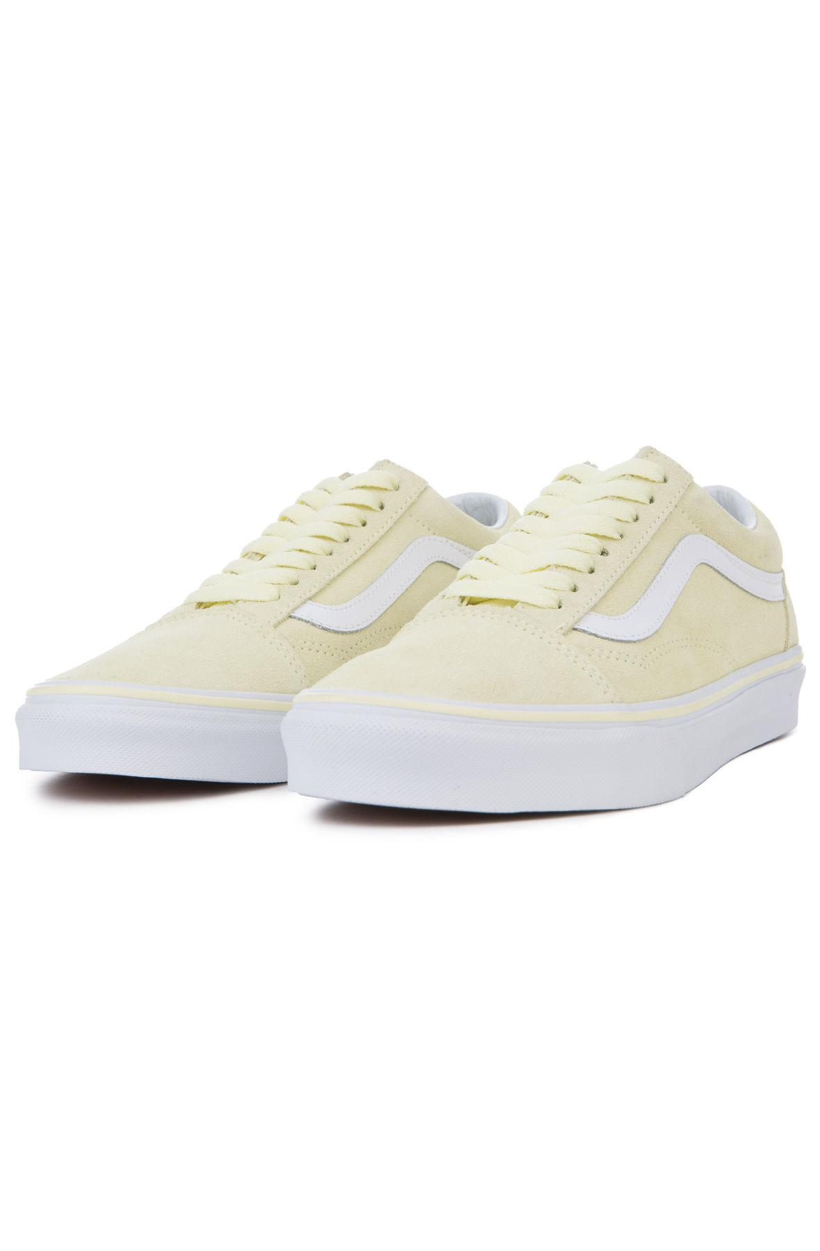 Lyst - Vans The Women s Old Skool Suede In Tender Yellow And True ... 63e0406e3