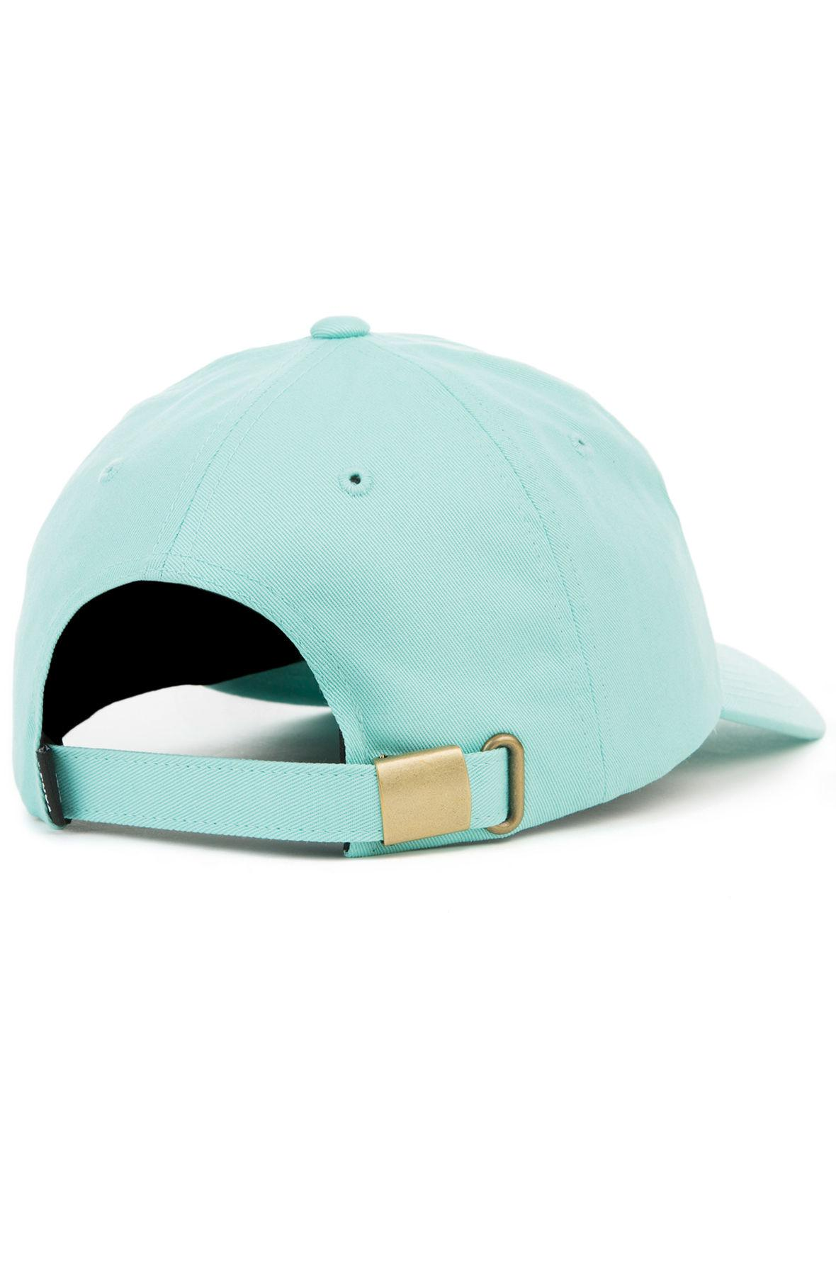 e5a89a0680 Lyst - Vans The Curved Bill Jockey Dad Cap in Blue for Men