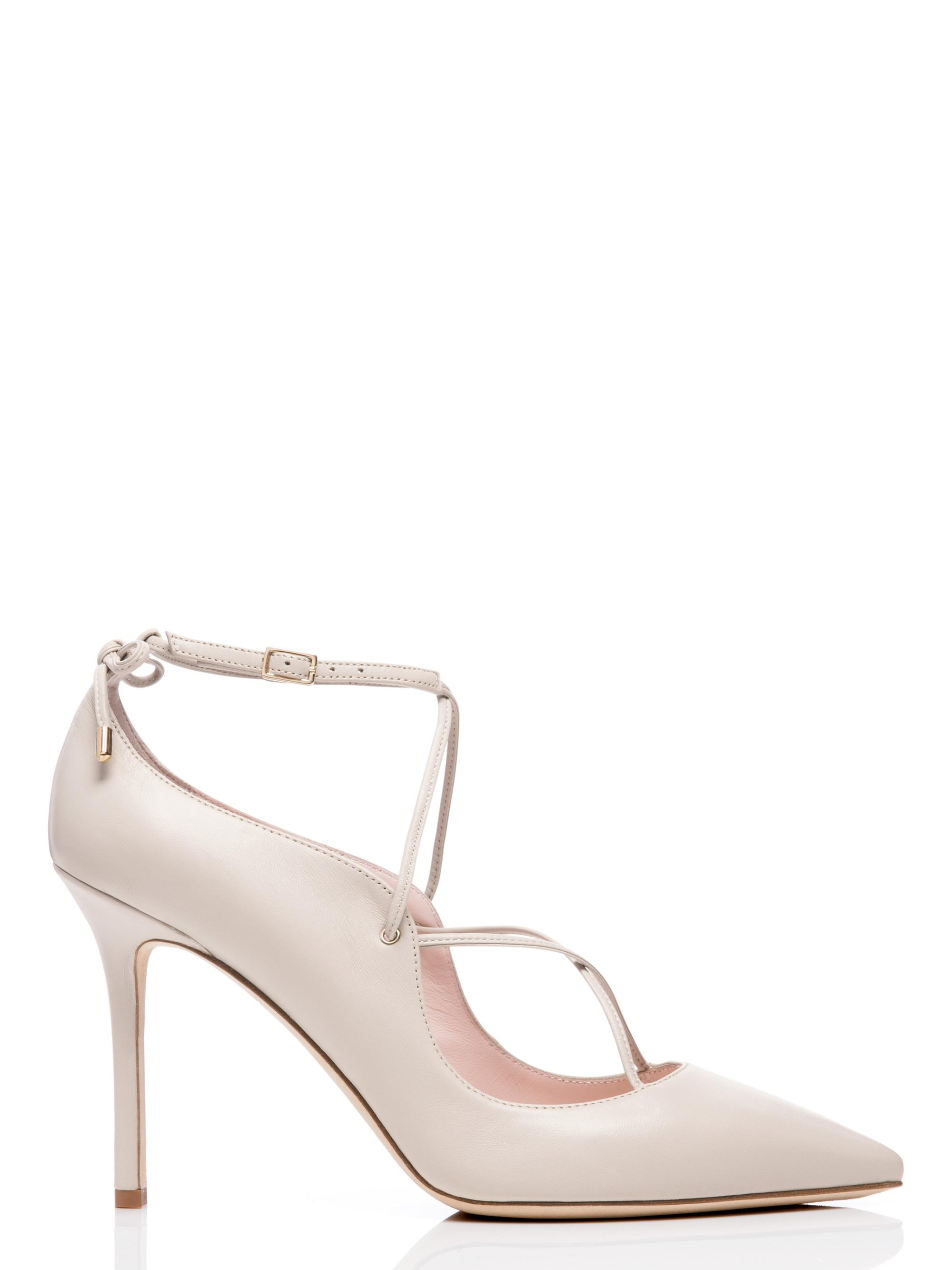 e829702a8f03 Lyst - Kate Spade Priscilla Heels in White