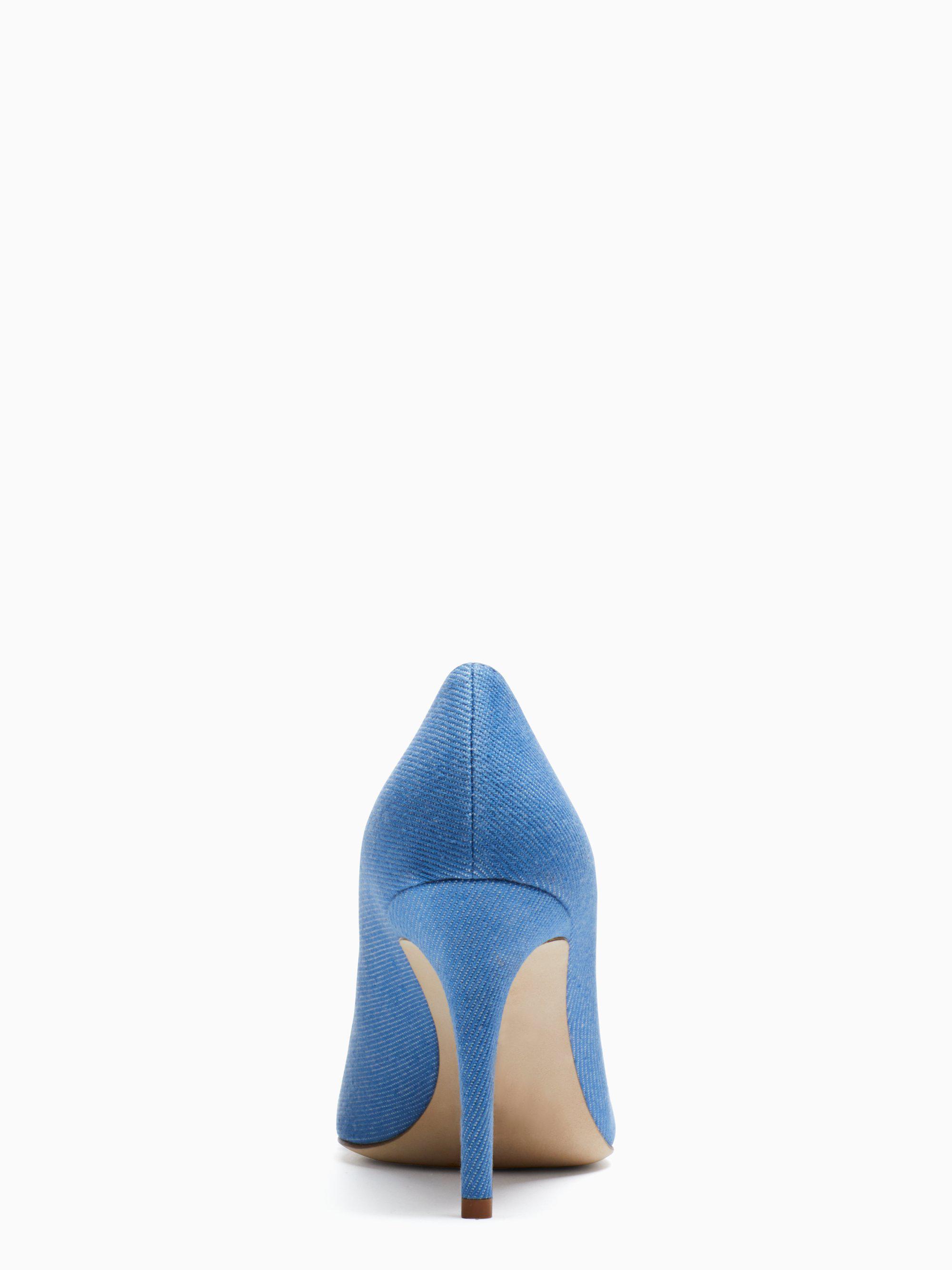 cb5b0ada4ef5 Lyst - Kate Spade Luciana Heels in Blue