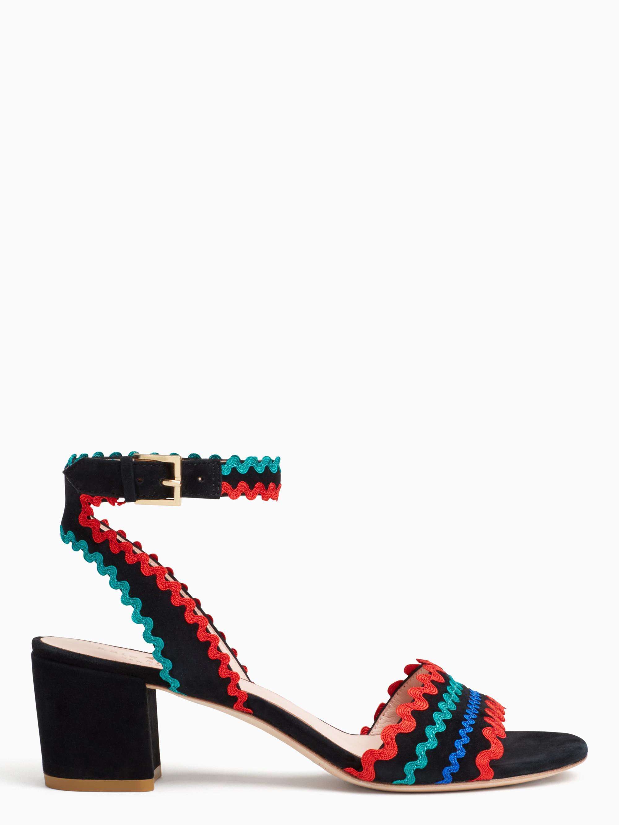 f49afc57df4b Lyst - Kate Spade Piedra Heels in Black
