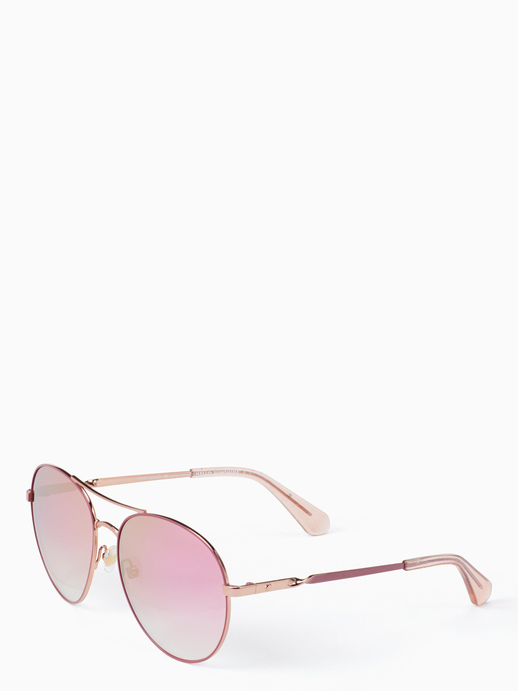 49ec65f481283 Kate Spade. Women s Pink Joshelle Sunglasses.  160 From kate spade new york