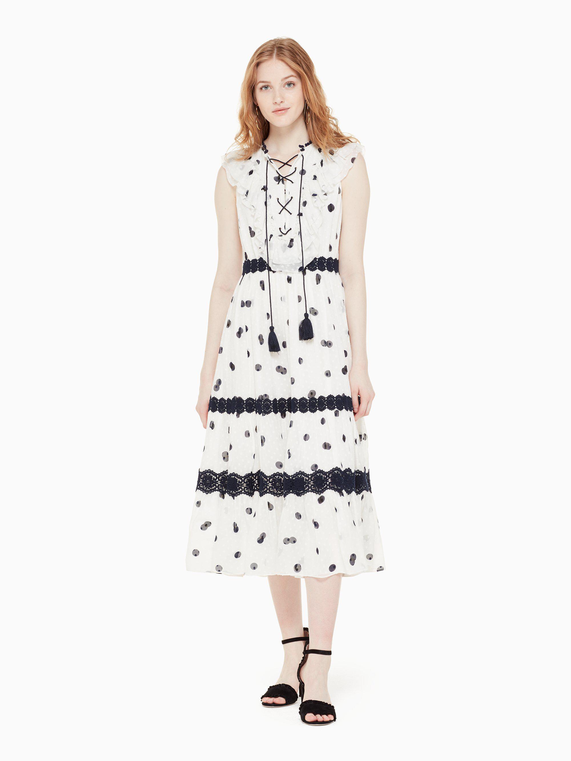 c2051c40e69d Kate Spade Mini Dee Dot Raisa Dress - Lyst