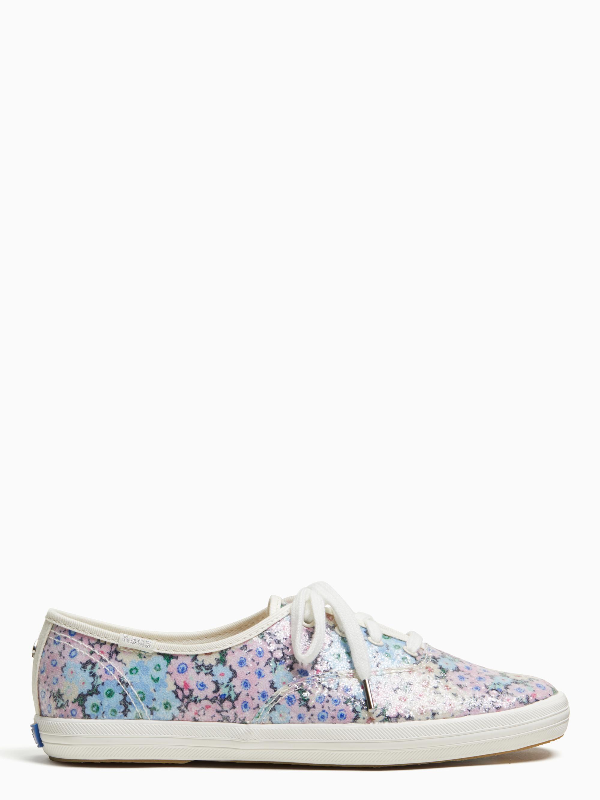 59df63eb388a Lyst - Kate Spade Keds X Champion Daisy Garden Glitter Sneakers