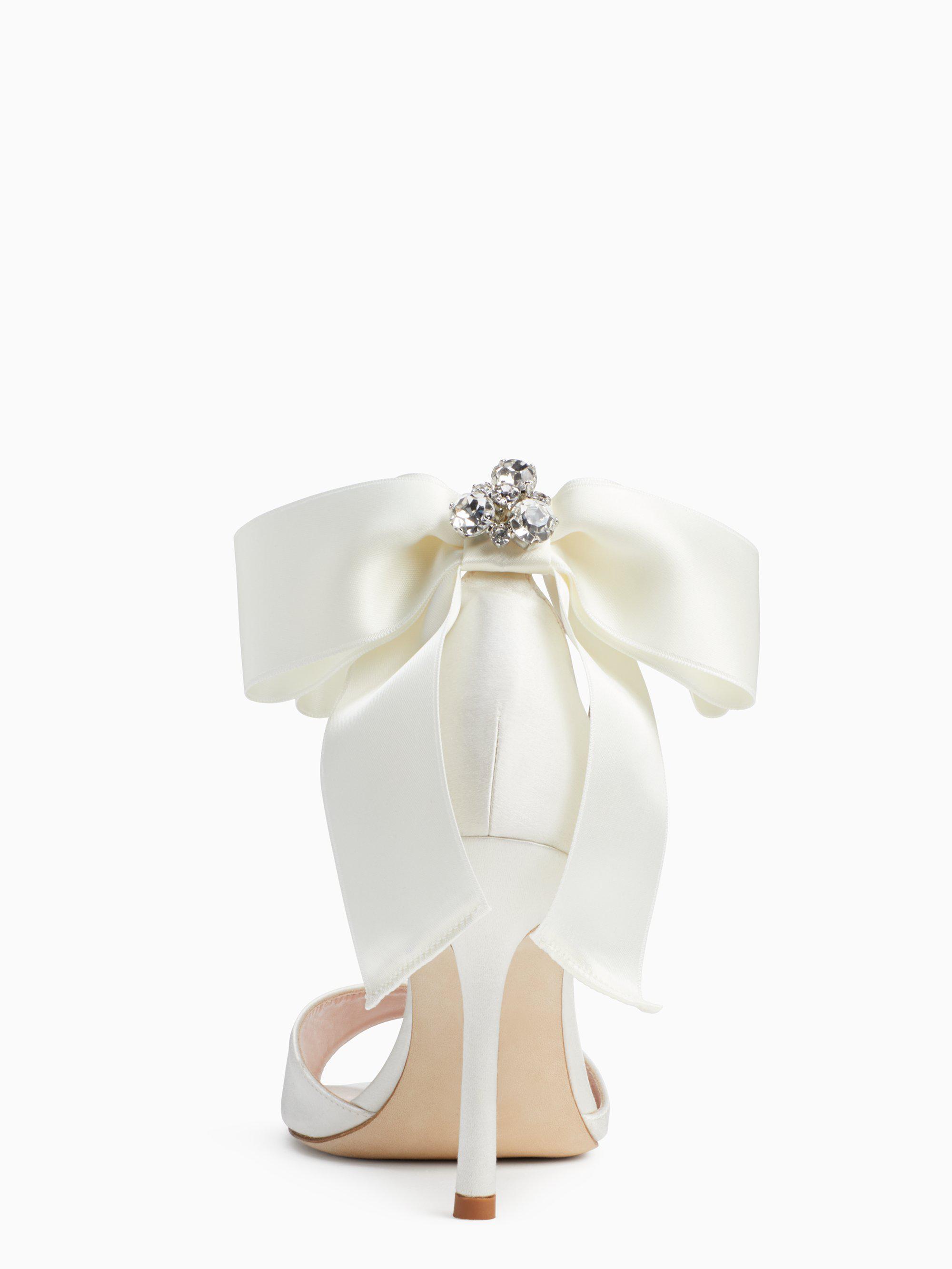 697a527780f3 Lyst - Kate Spade Ilise Heels in White